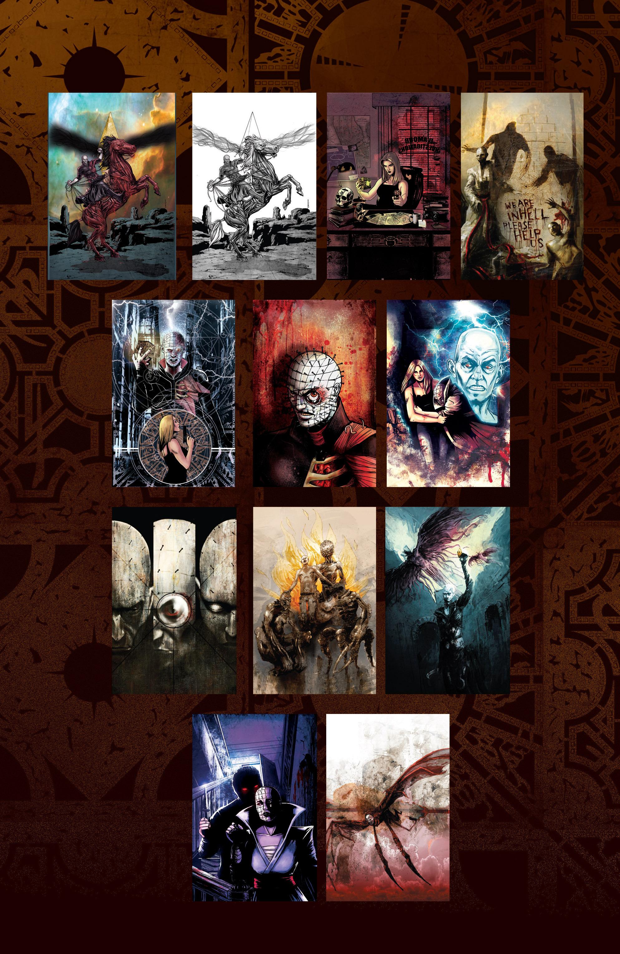 Read online Clive Barker's Hellraiser: The Dark Watch comic -  Issue # TPB 3 - 137