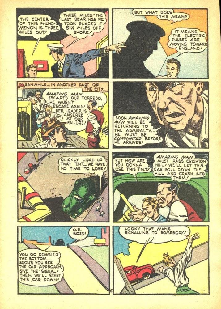 Read online Amazing Man Comics comic -  Issue #25 - 7