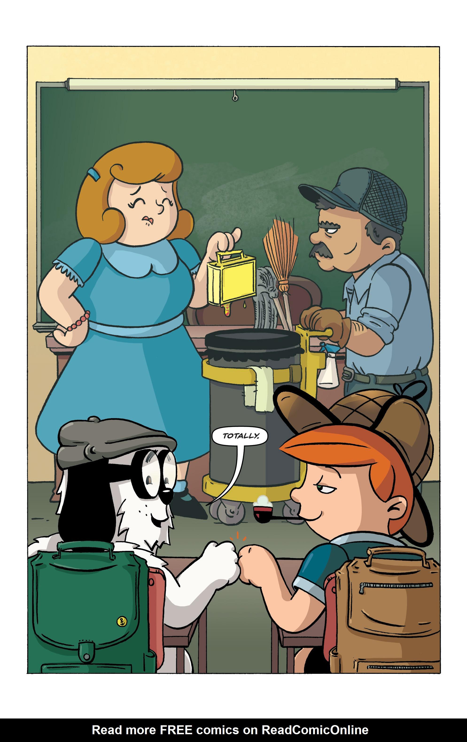 Read online Kid Sherlock comic -  Issue #1 - 24