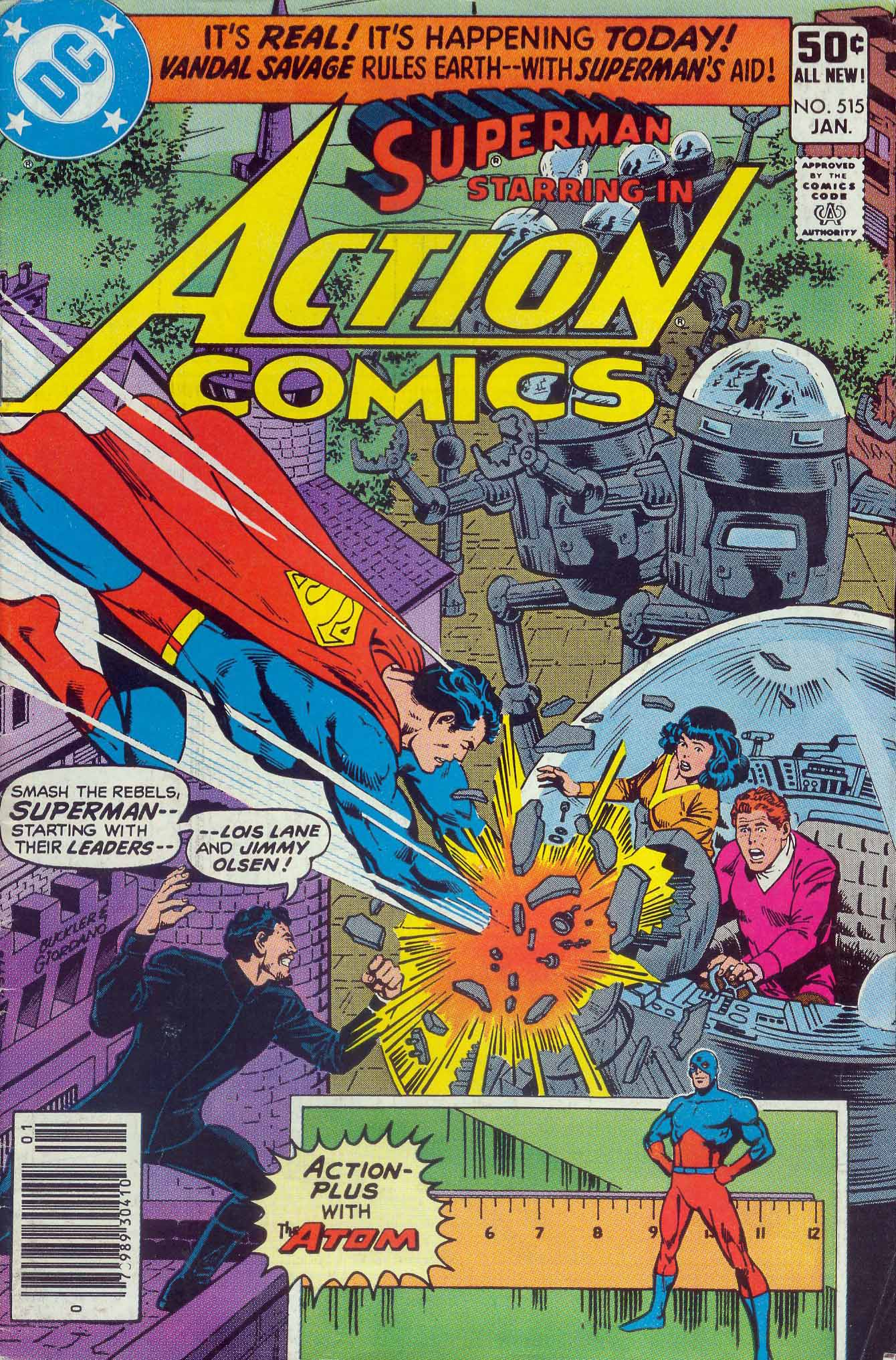 Read online Action Comics (1938) comic -  Issue #515 - 1