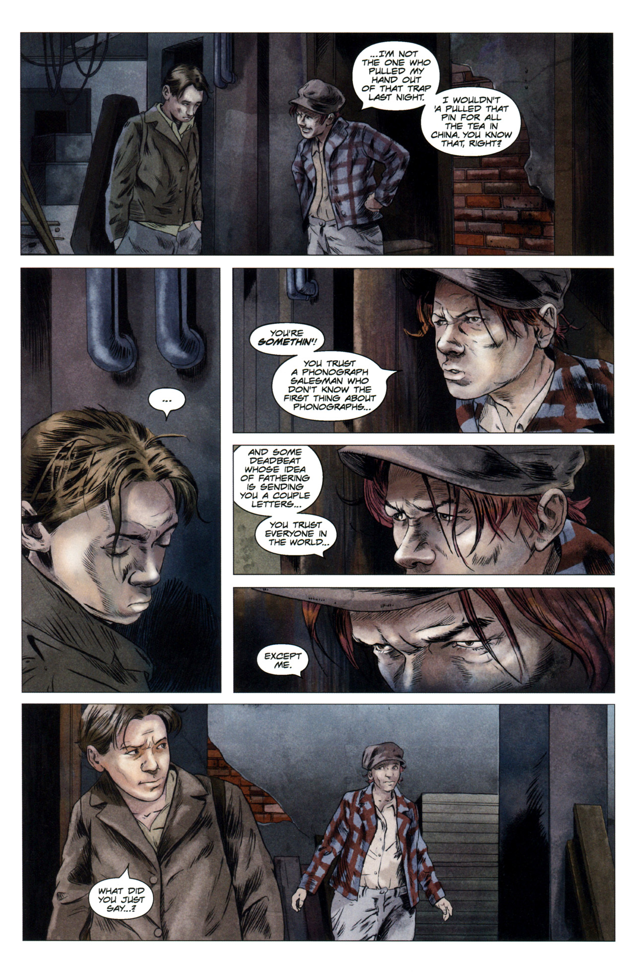 Read online Severed comic -  Issue #4 - 6