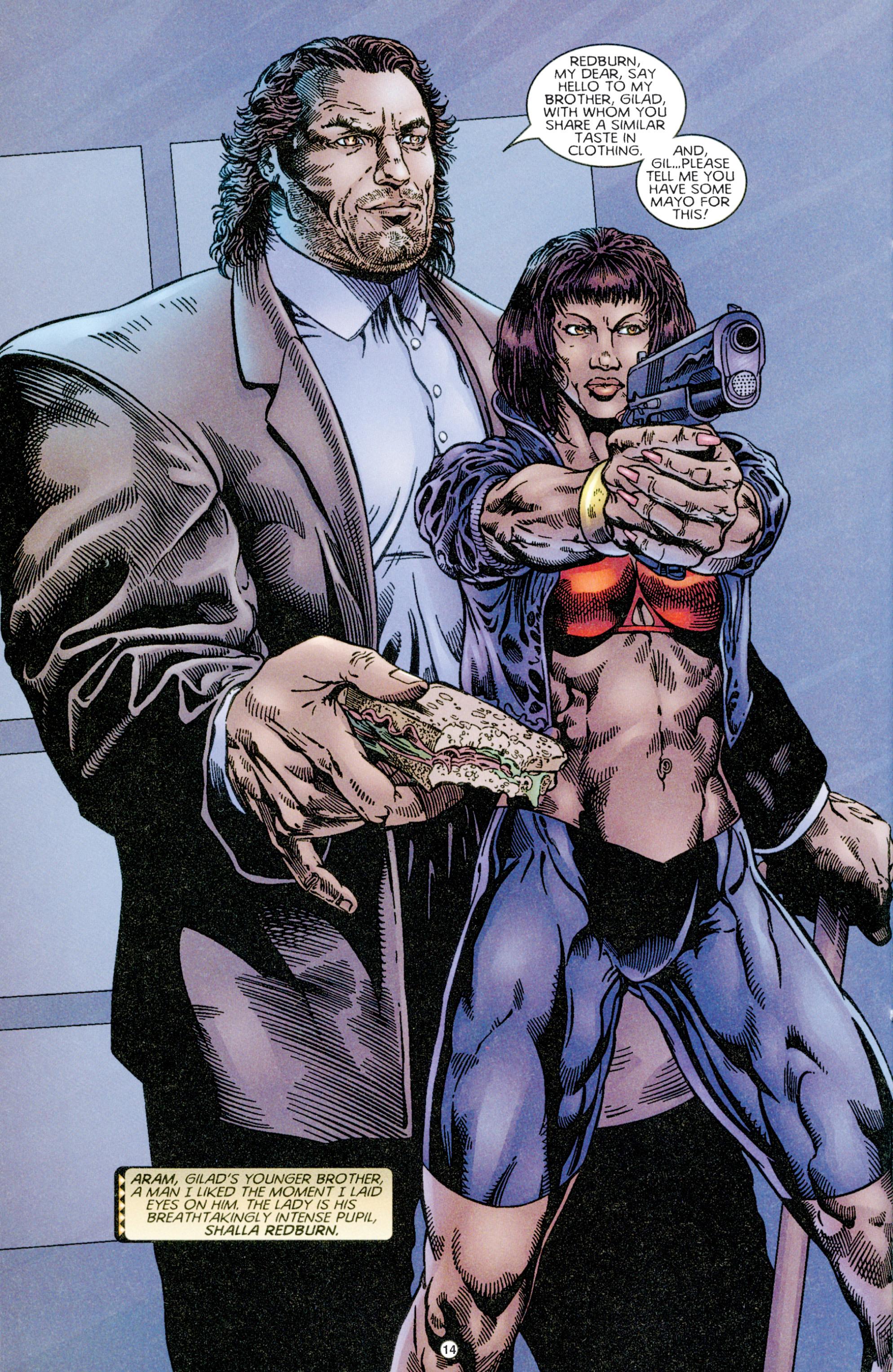 Read online Eternal Warriors comic -  Issue # Issue Time & Treachery - 13