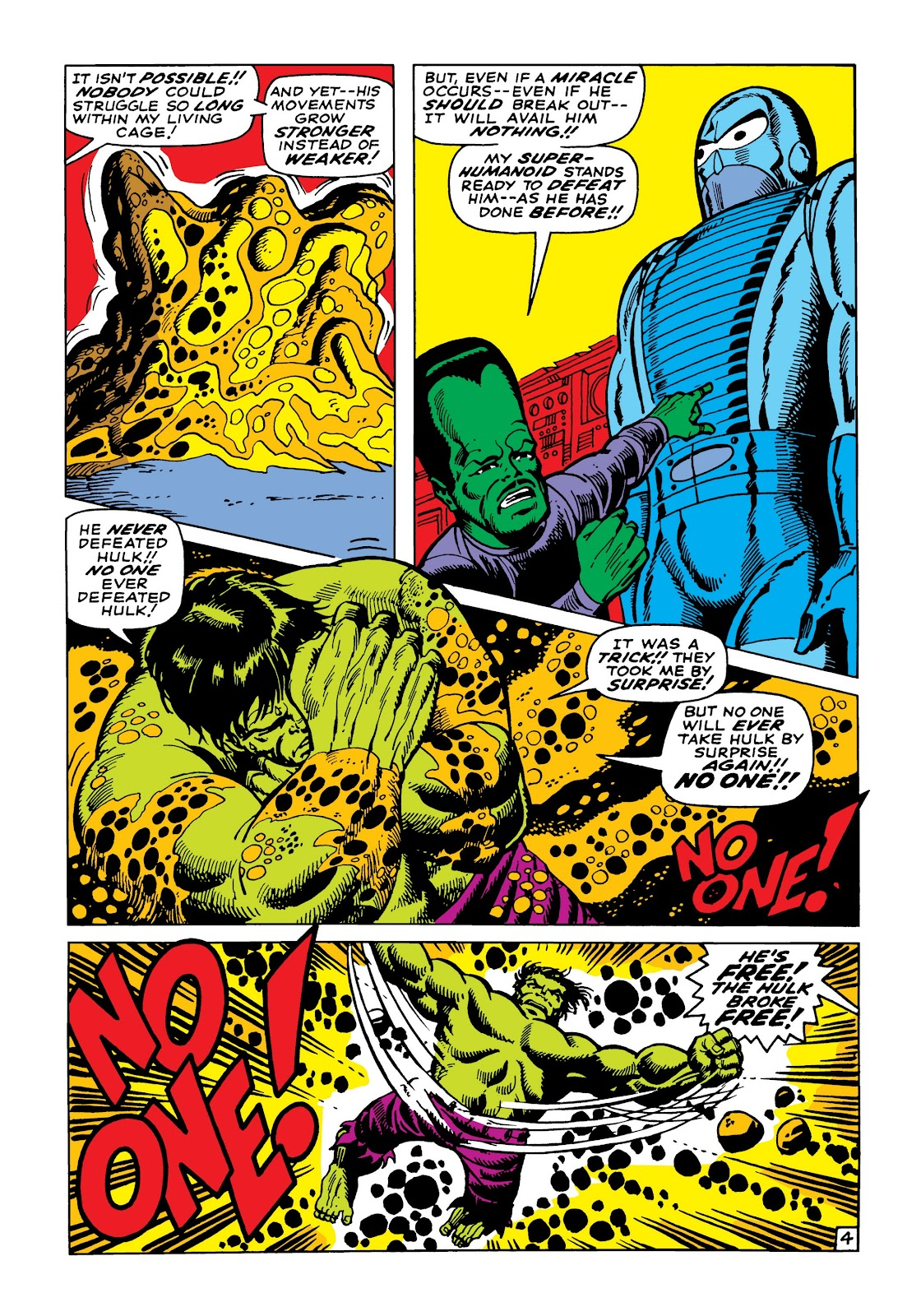 Read online Marvel Masterworks: The Incredible Hulk comic -  Issue # TPB 5 (Part 2) - 36