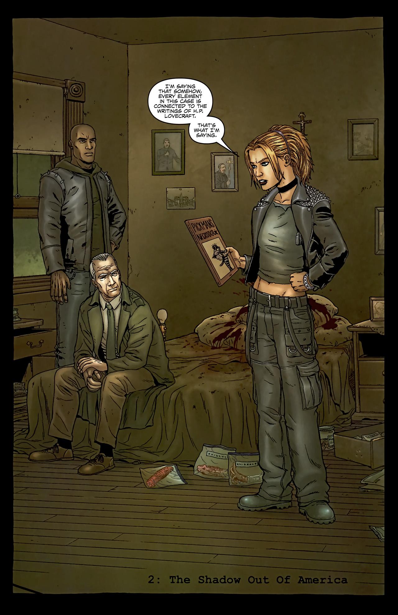 Read online Alan Moore's Neonomicon comic -  Issue #2 - 8