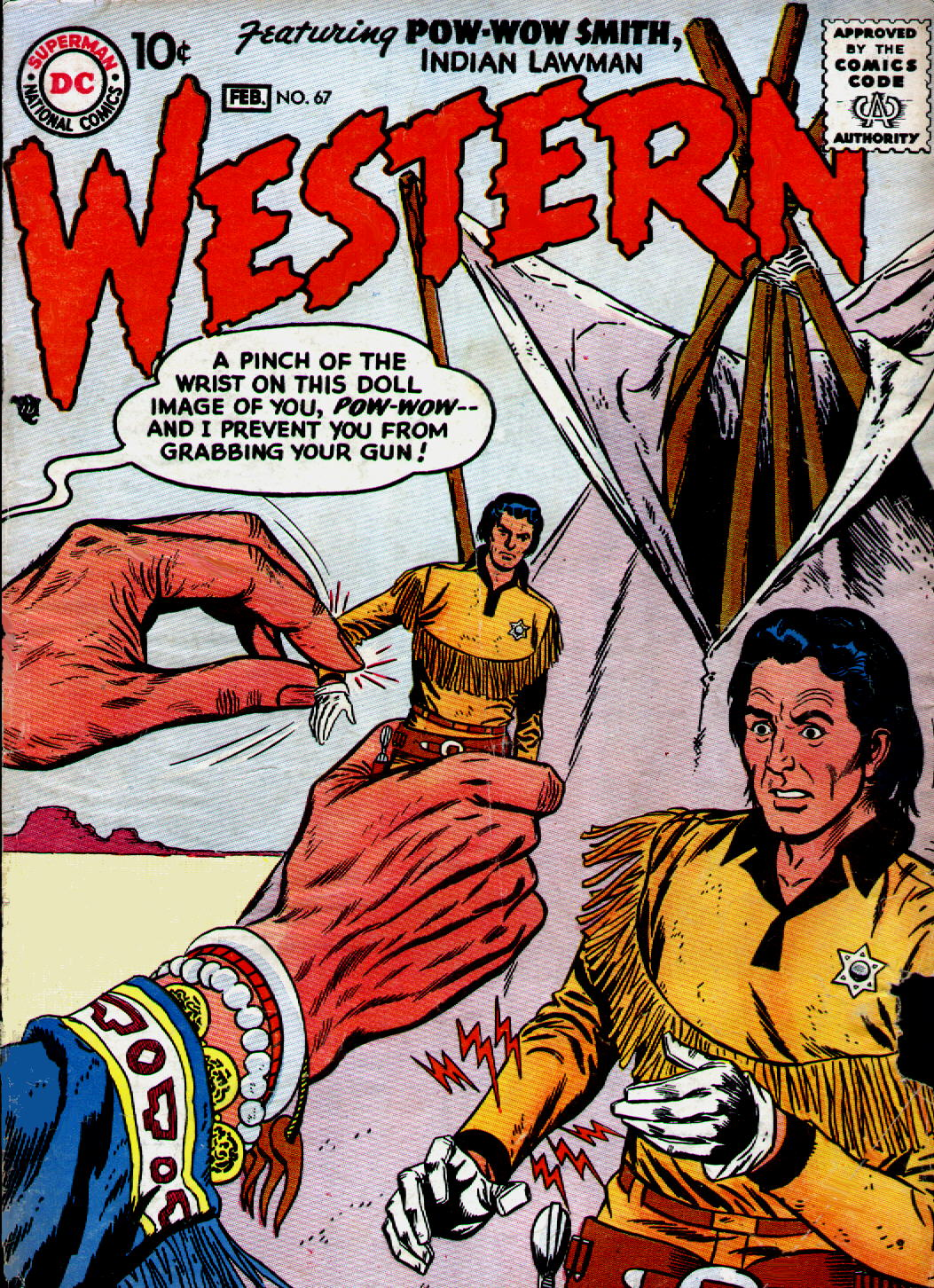 Western Comics 67 Page 1