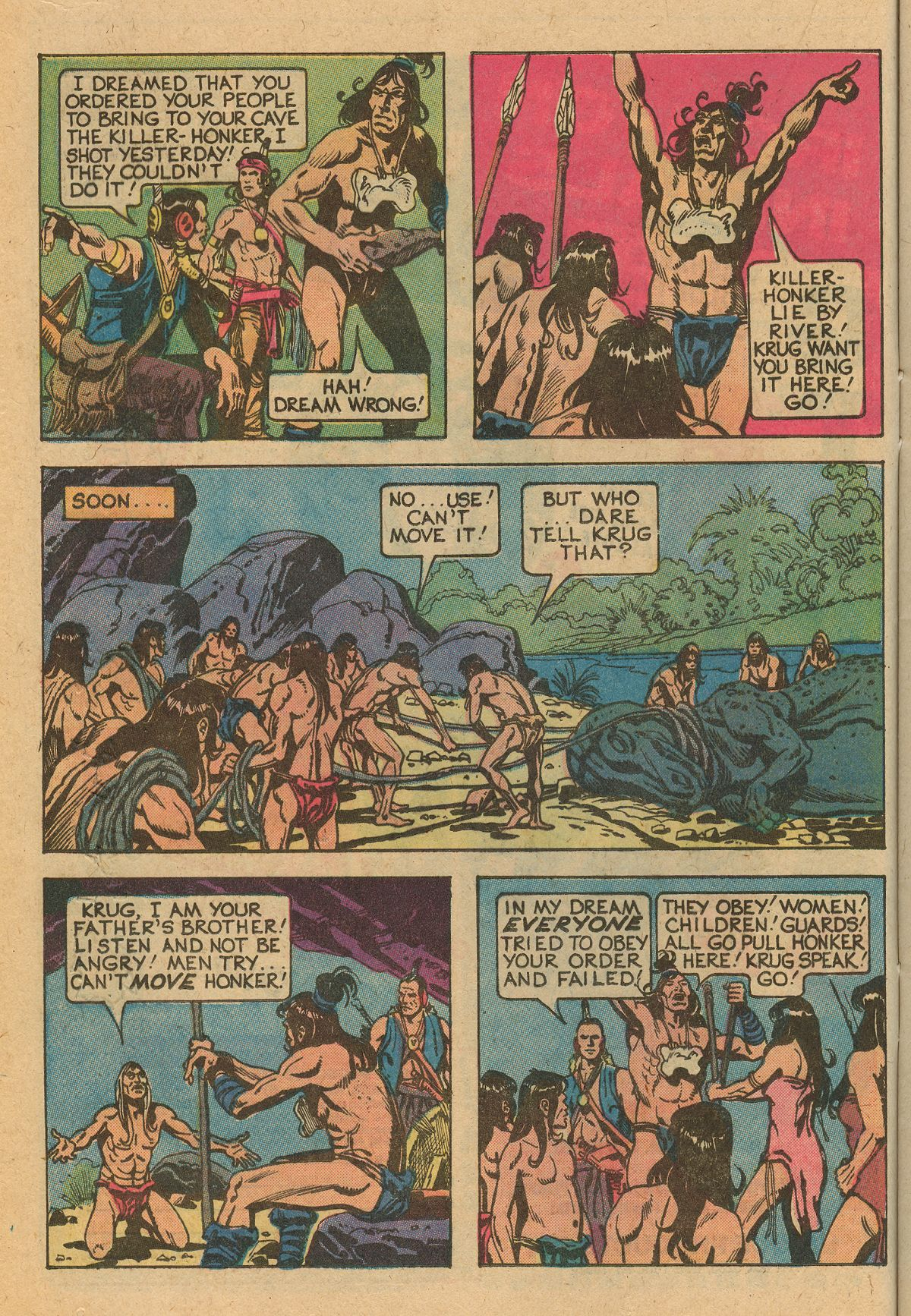 Read online Turok, Son of Stone comic -  Issue #115 - 16