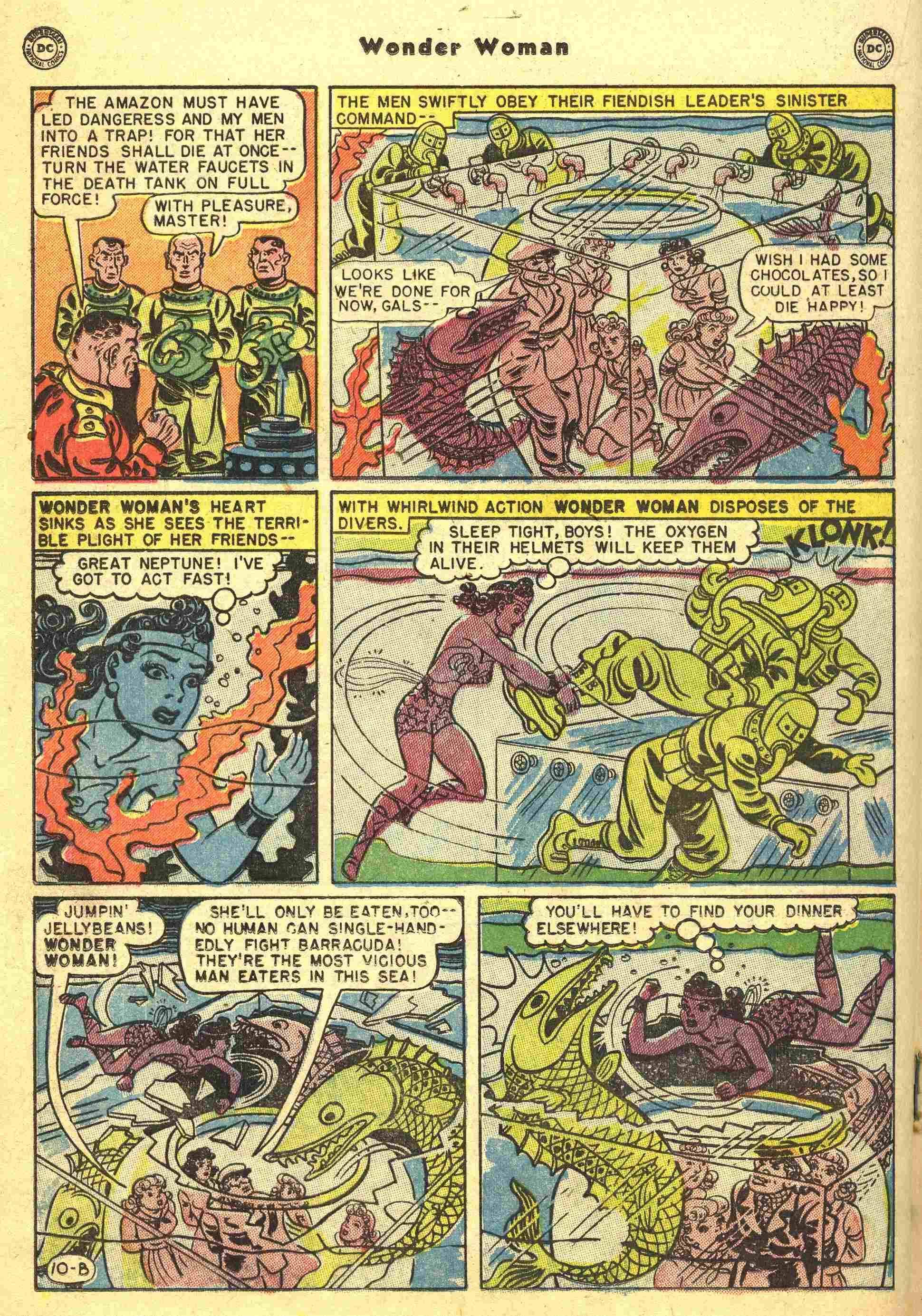 Read online Wonder Woman (1942) comic -  Issue #44 - 23