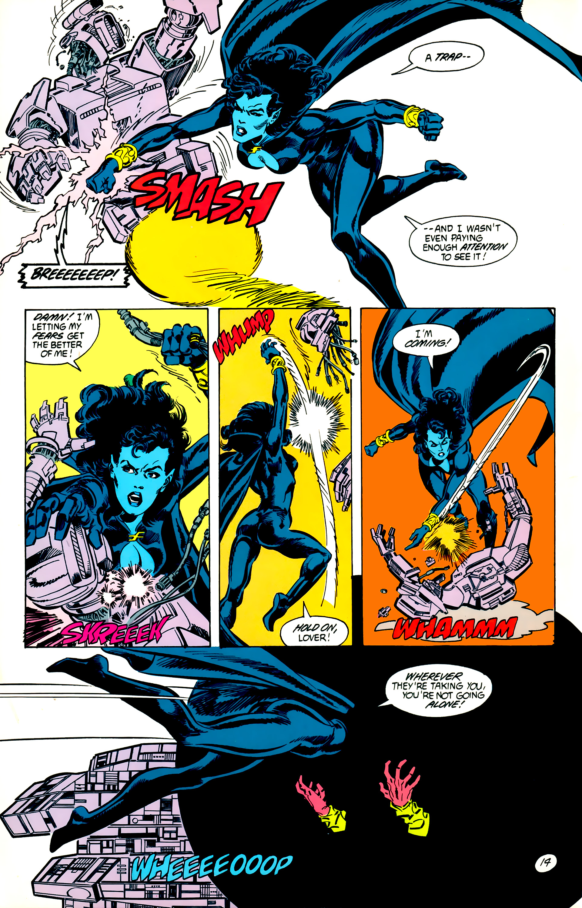 Legion of Super-Heroes (1984) 56 Page 14