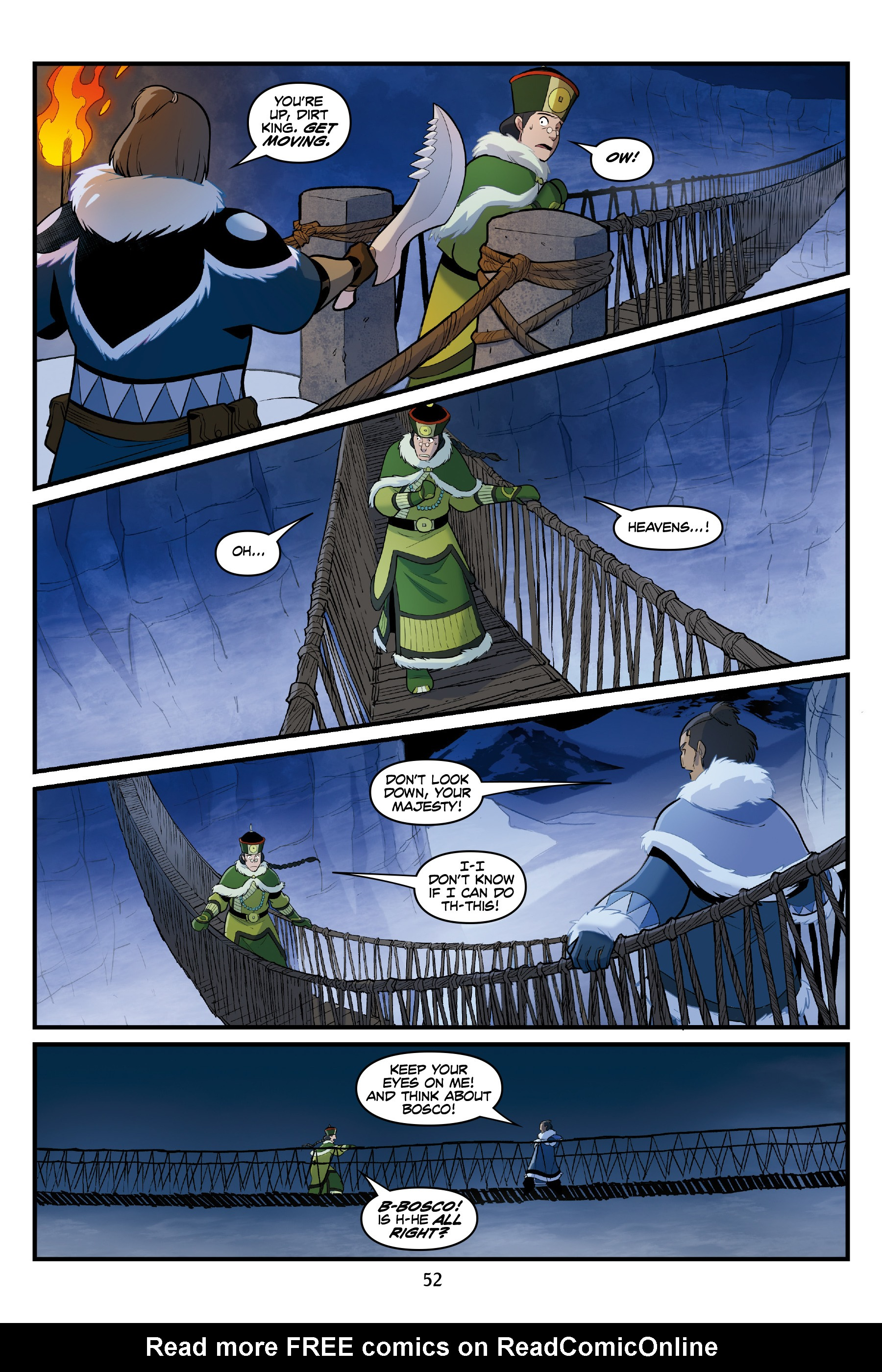 Read online Nickelodeon Avatar: The Last Airbender - North and South comic -  Issue #3 - 52