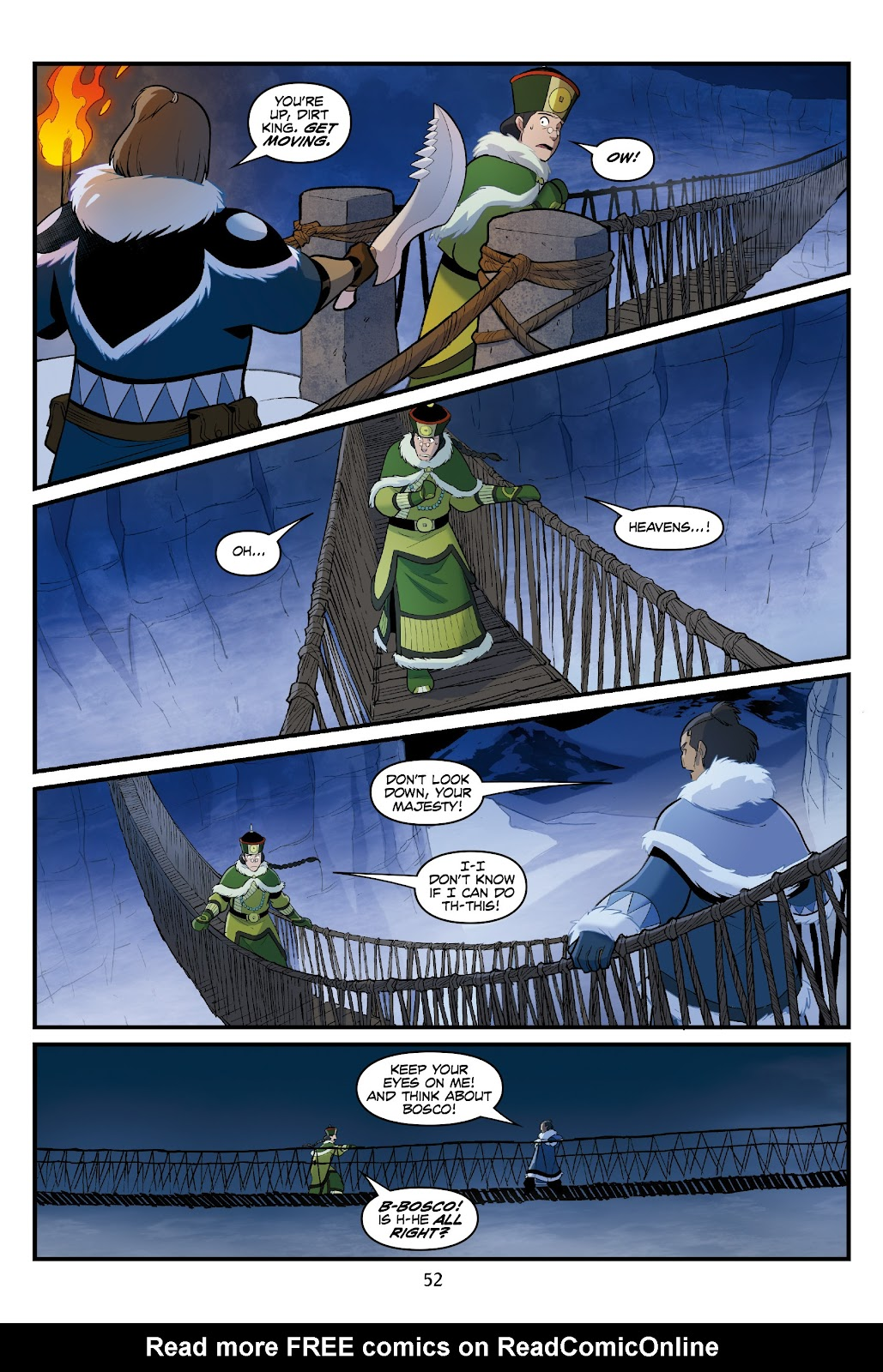 Nickelodeon Avatar: The Last Airbender - North and South issue 3 - Page 52