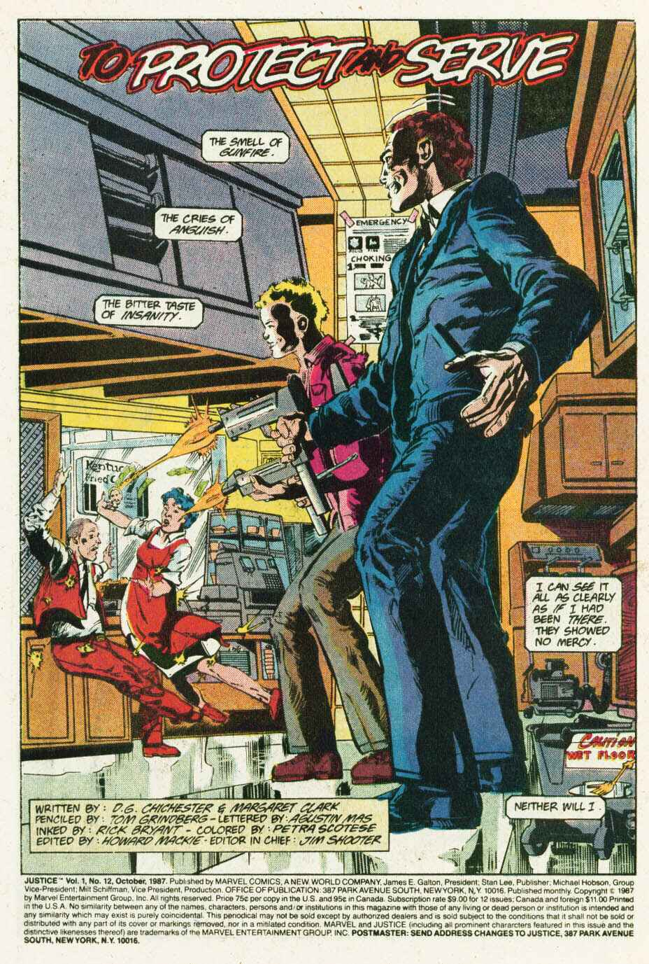 Read online Justice (1986) comic -  Issue #12 - 2
