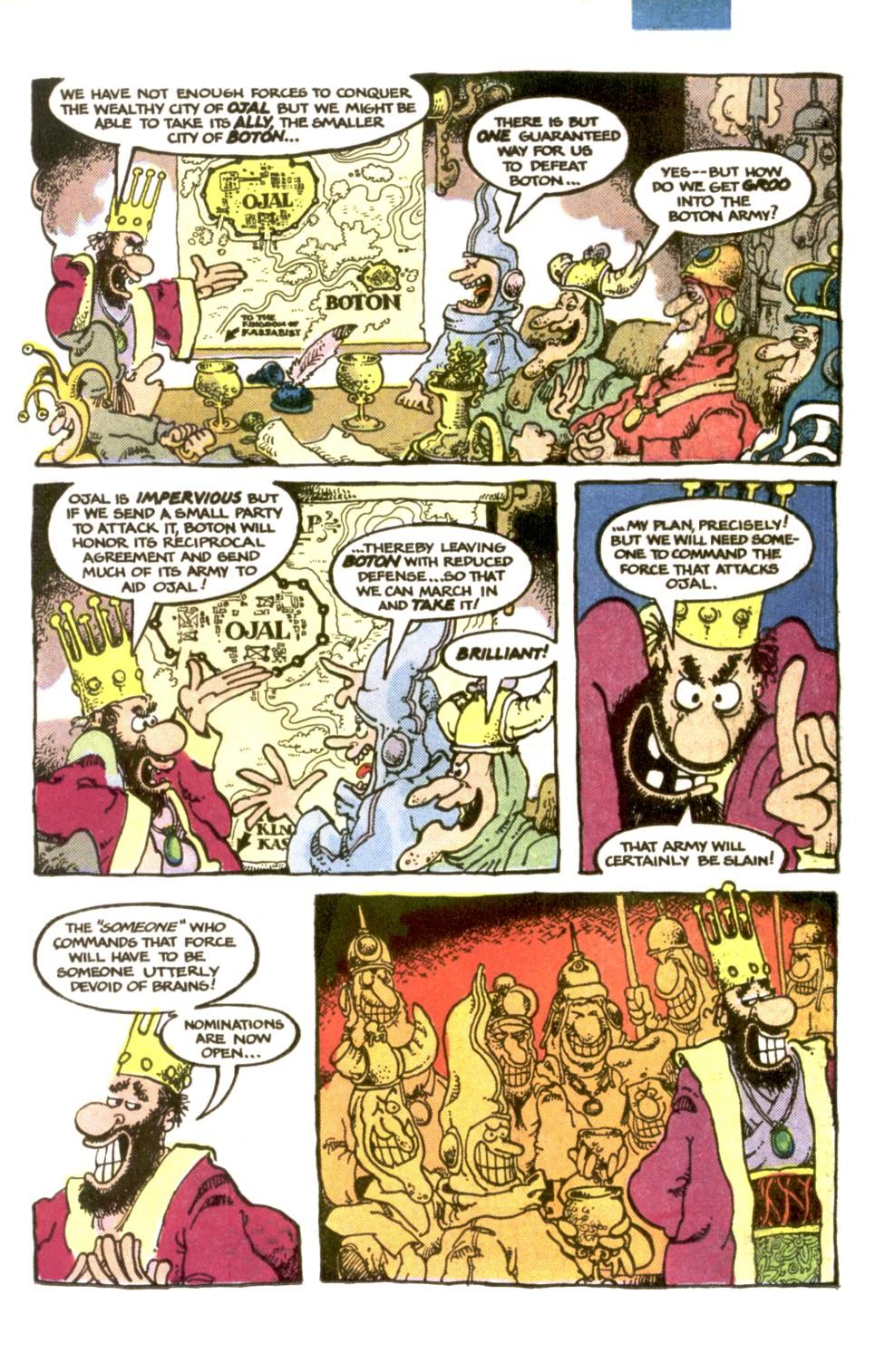 Read online Sergio Aragonés Groo the Wanderer comic -  Issue #1 - 13
