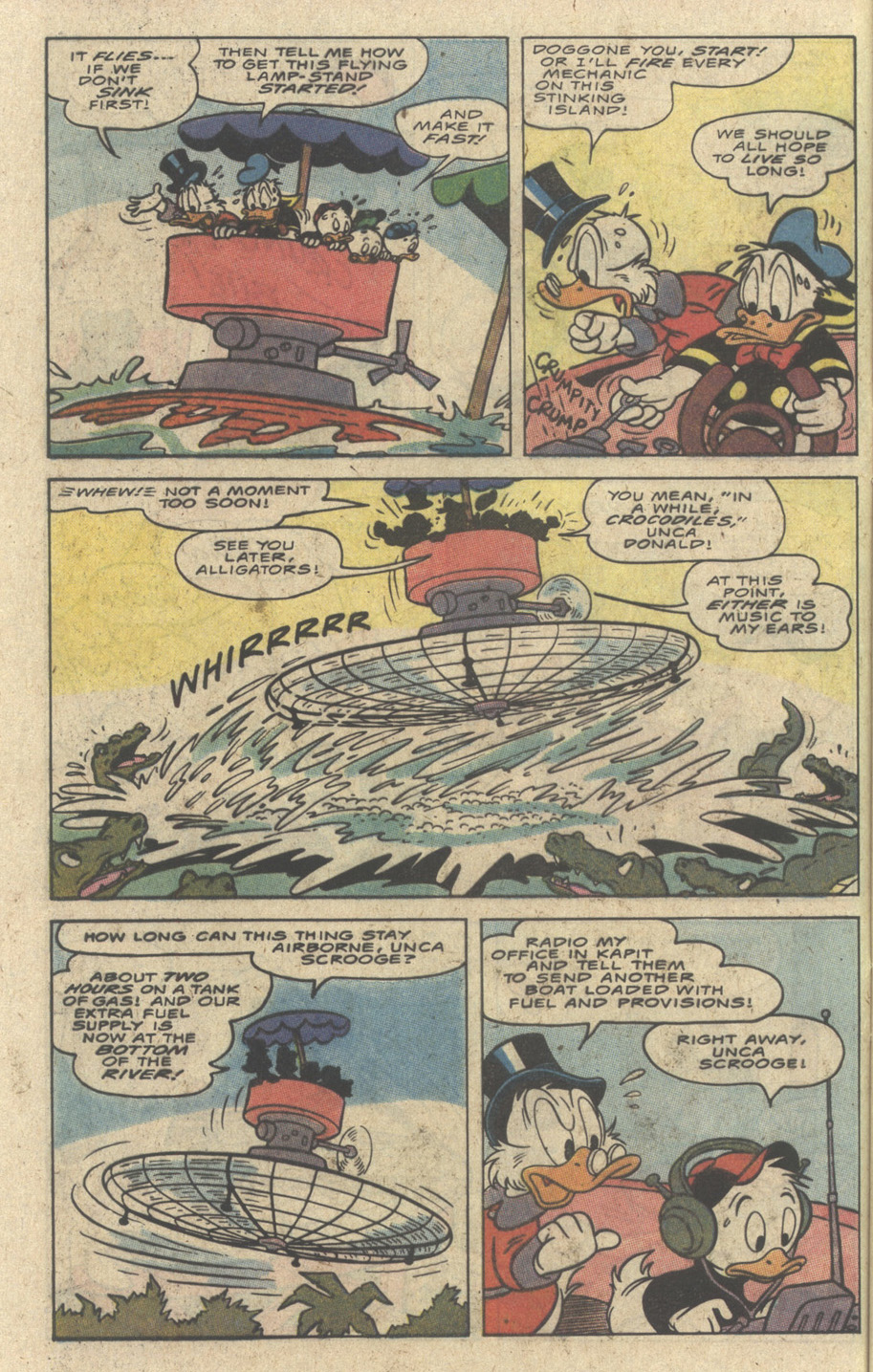 Read online Uncle Scrooge (1953) comic -  Issue #242 - 20