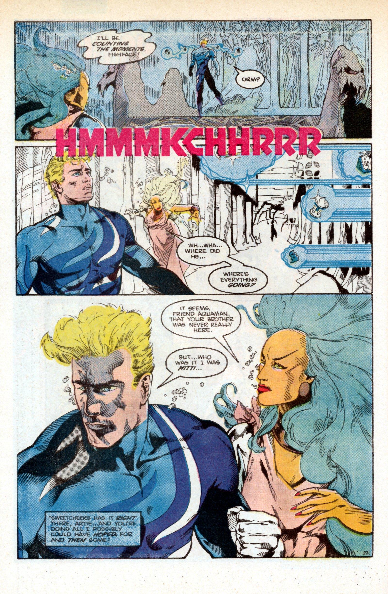 Read online Aquaman (1986) comic -  Issue #3 - 33