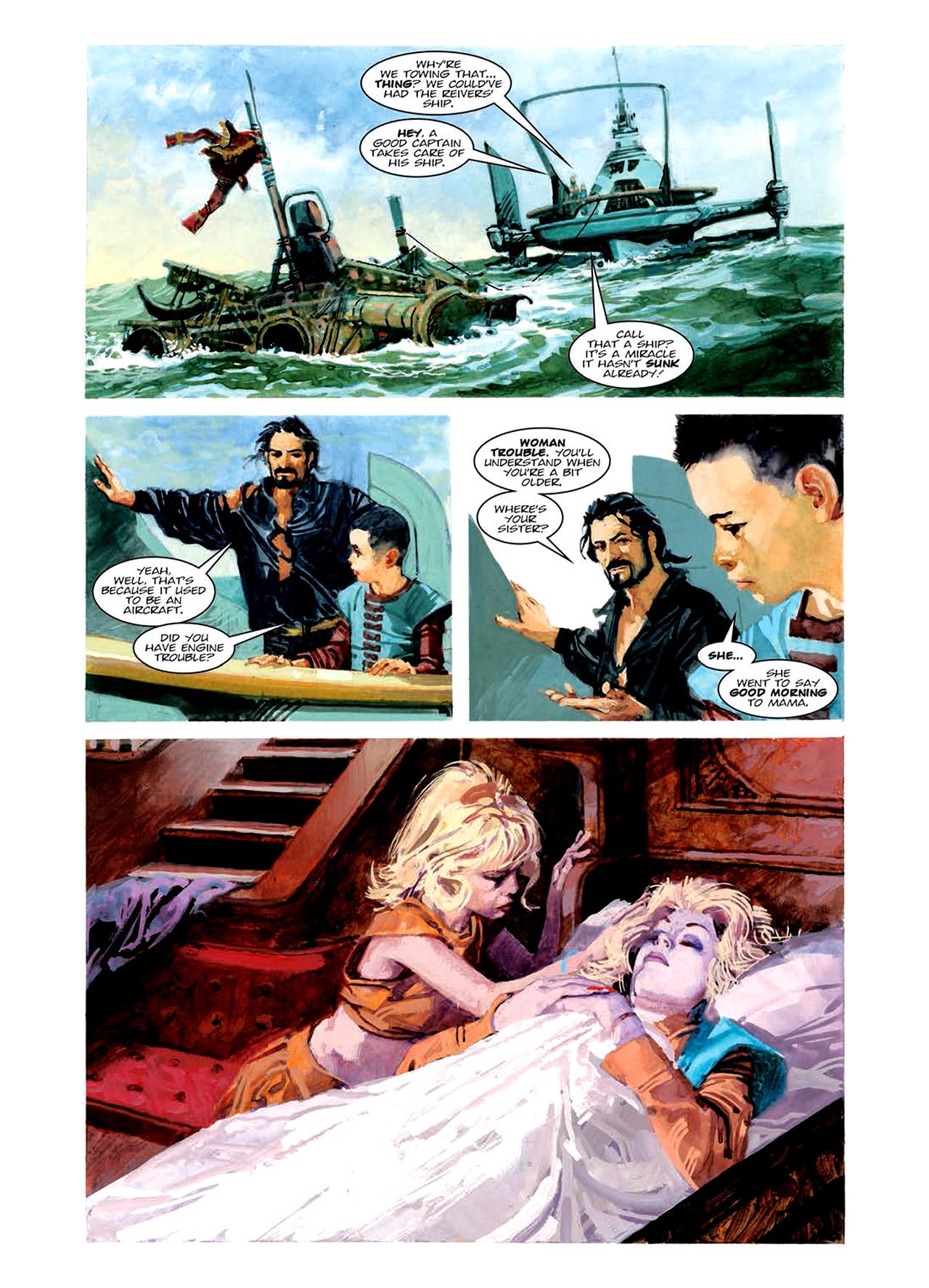 Read online Nikolai Dante comic -  Issue # TPB 6 - 92