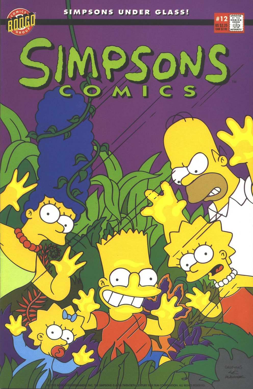 Read online Simpsons Comics comic -  Issue #12 - 1