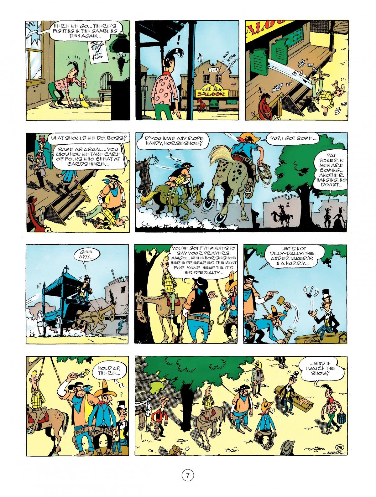 Read online A Lucky Luke Adventure comic -  Issue #44 - 7