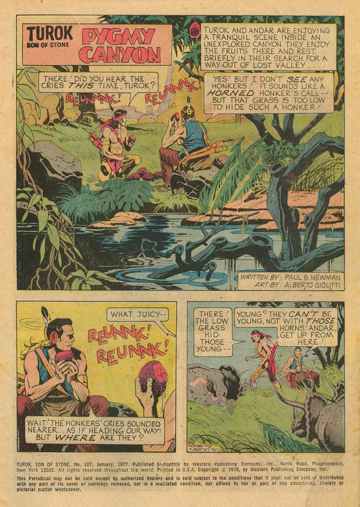 Read online Turok, Son of Stone comic -  Issue #107 - 3
