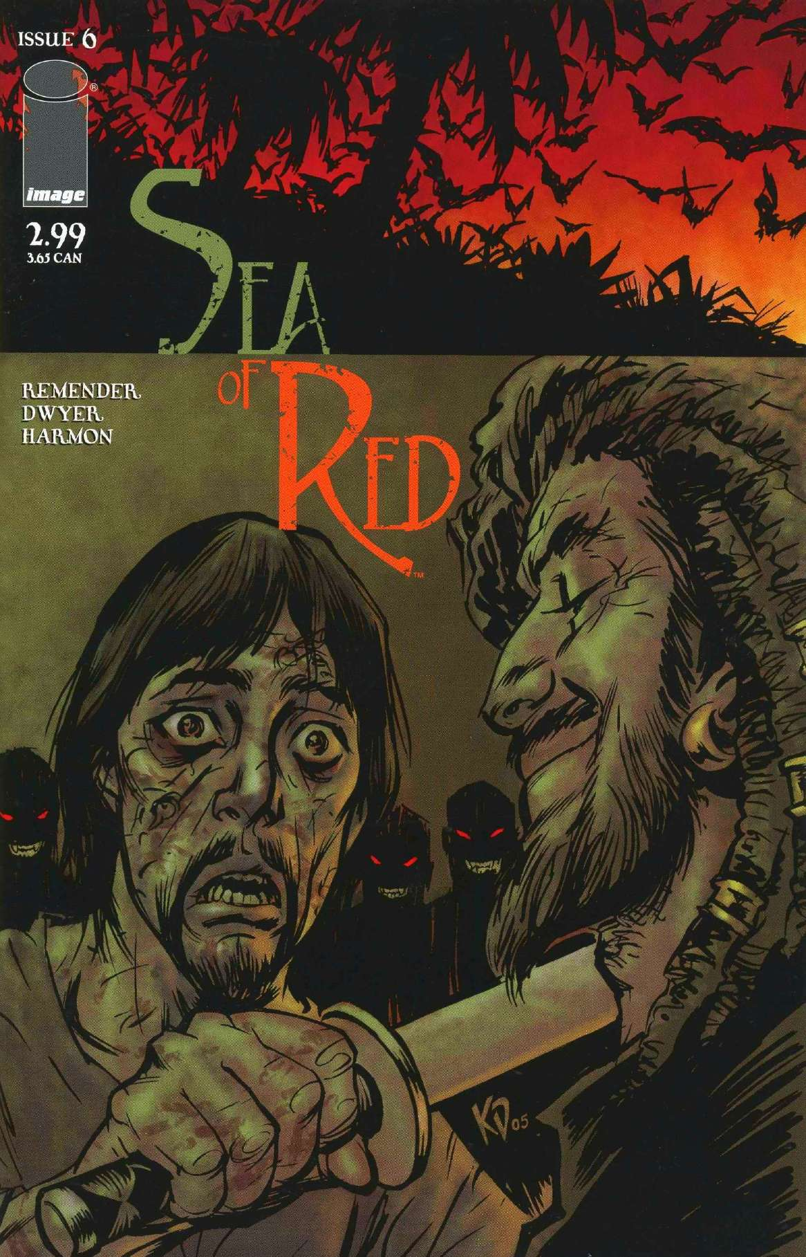 Read online Sea of Red comic -  Issue #6 - 1