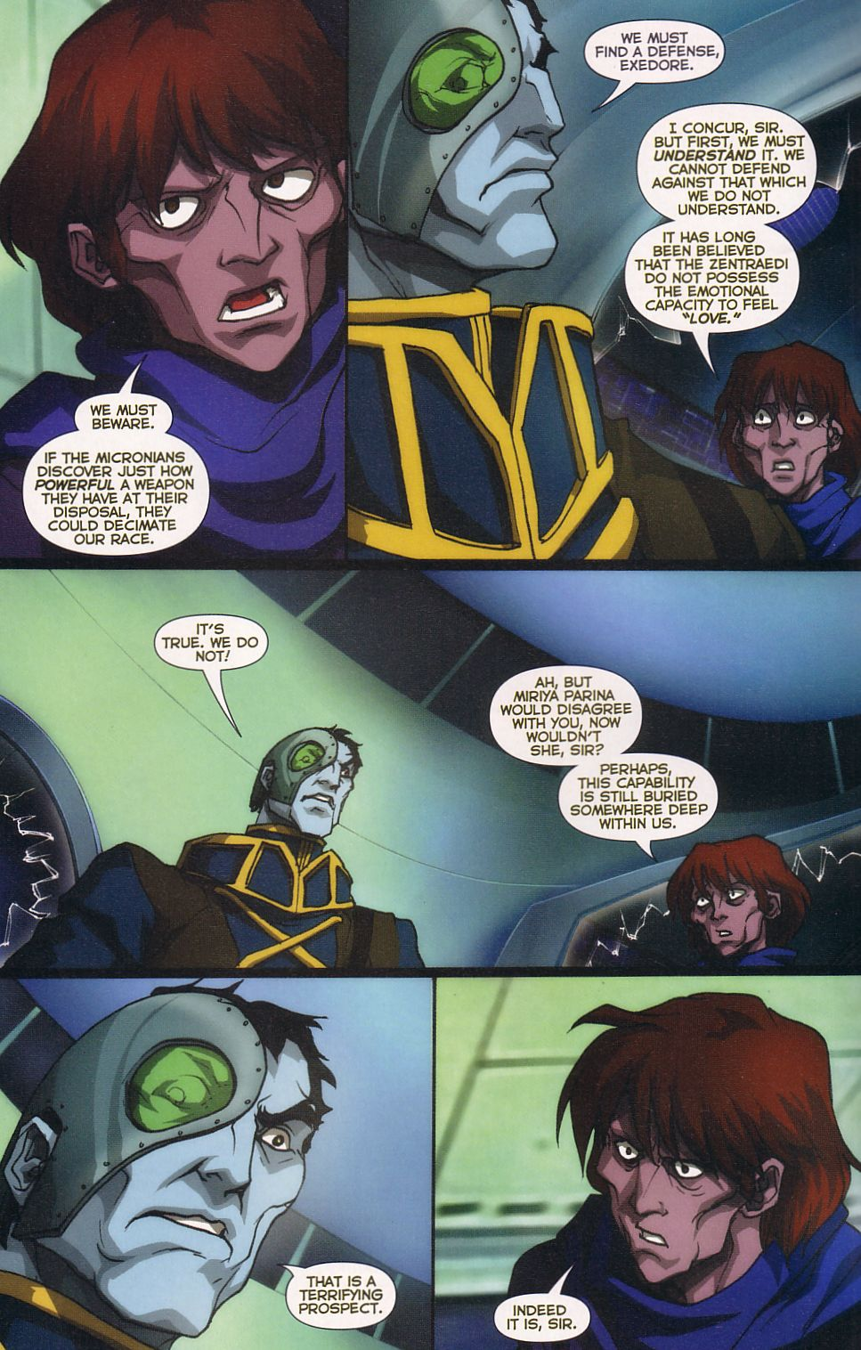 Read online Robotech: Love and War comic -  Issue #6 - 12