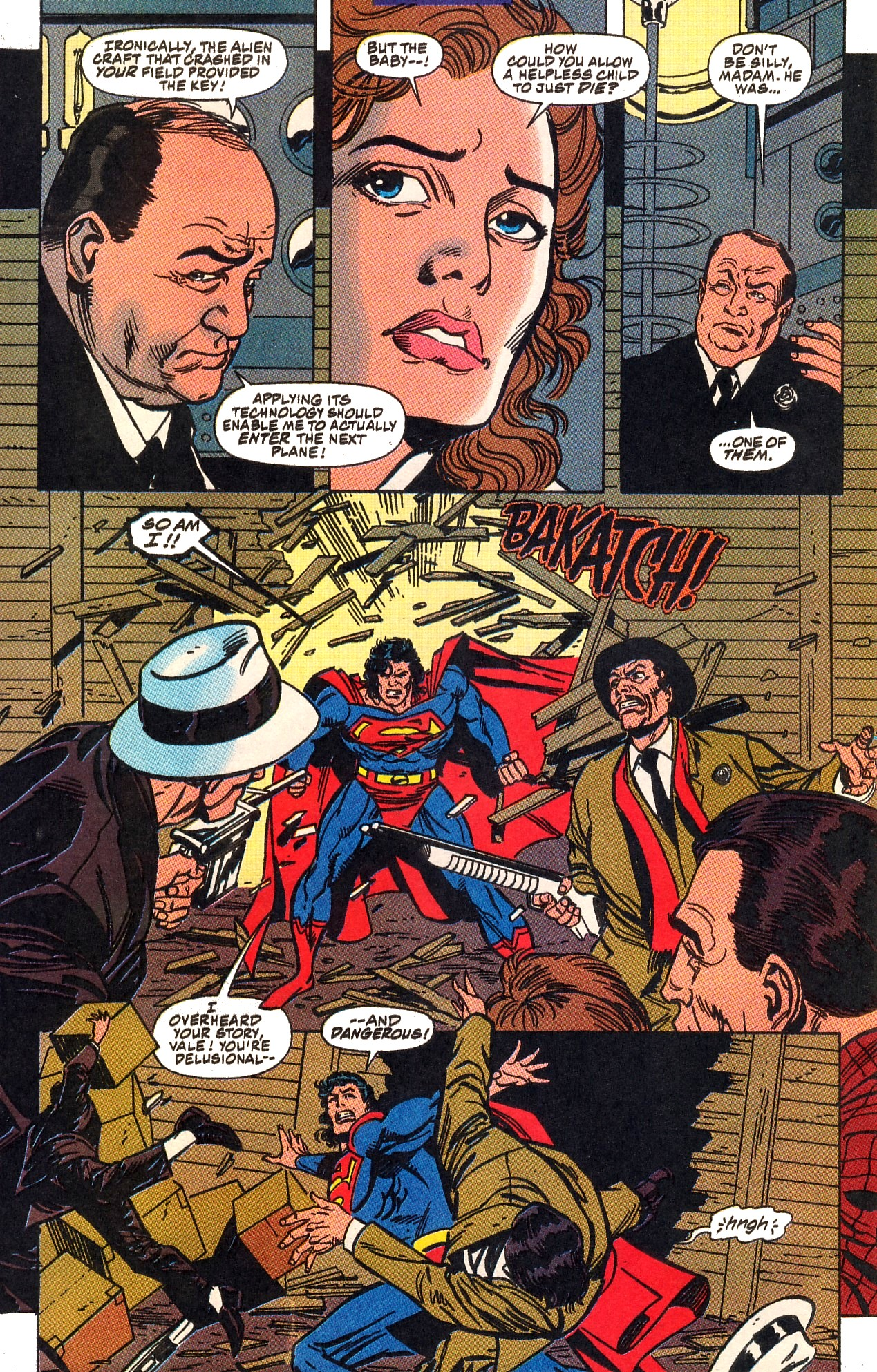 Read online Action Comics (1938) comic -  Issue #703 - 23