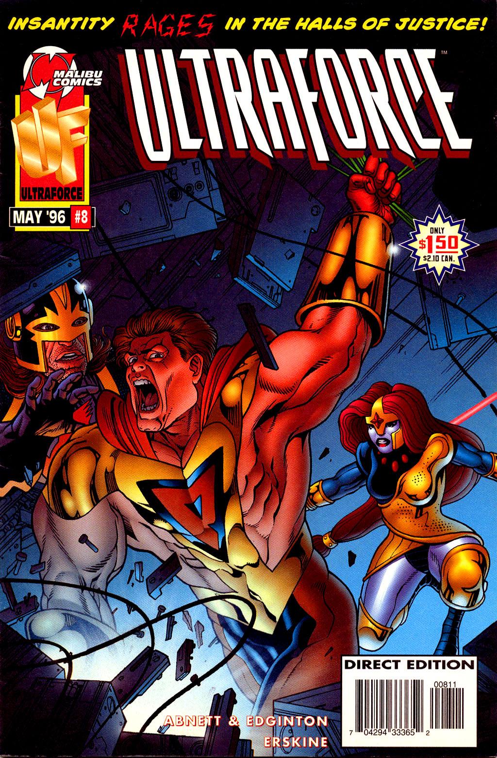 Read online UltraForce (1995) comic -  Issue #8 - 1