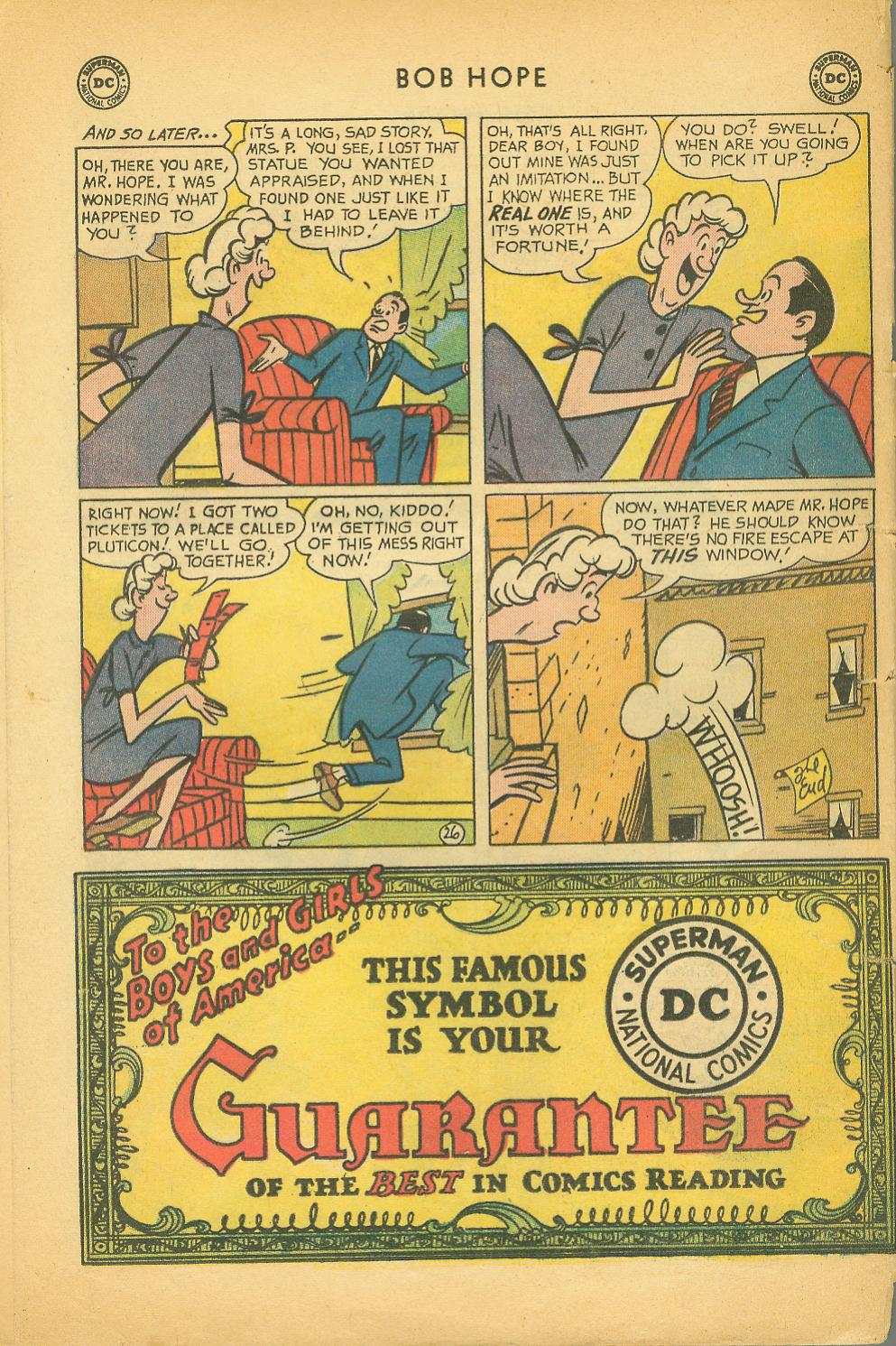 The Adventures of Bob Hope issue 64 - Page 32