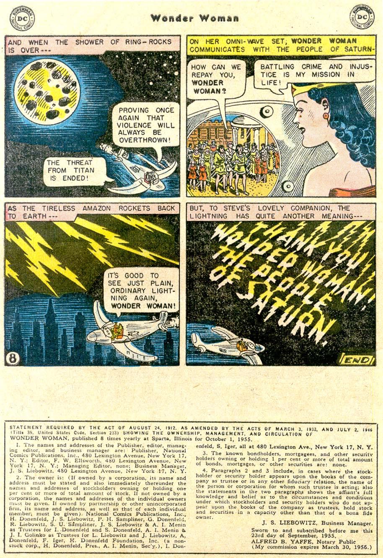 Read online Wonder Woman (1942) comic -  Issue #80 - 32