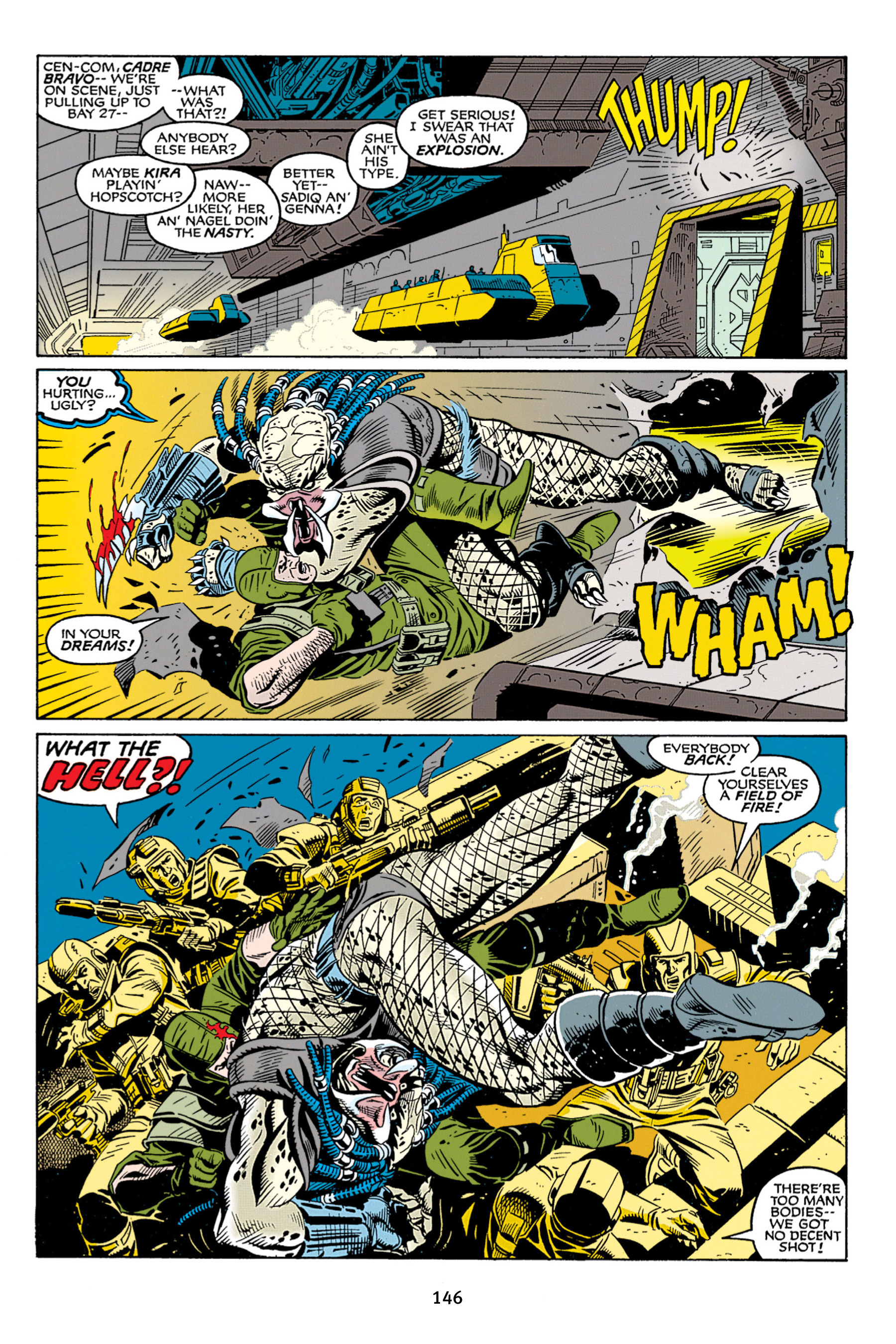 Read online Aliens vs. Predator Omnibus comic -  Issue # _TPB 2 Part 2 - 34