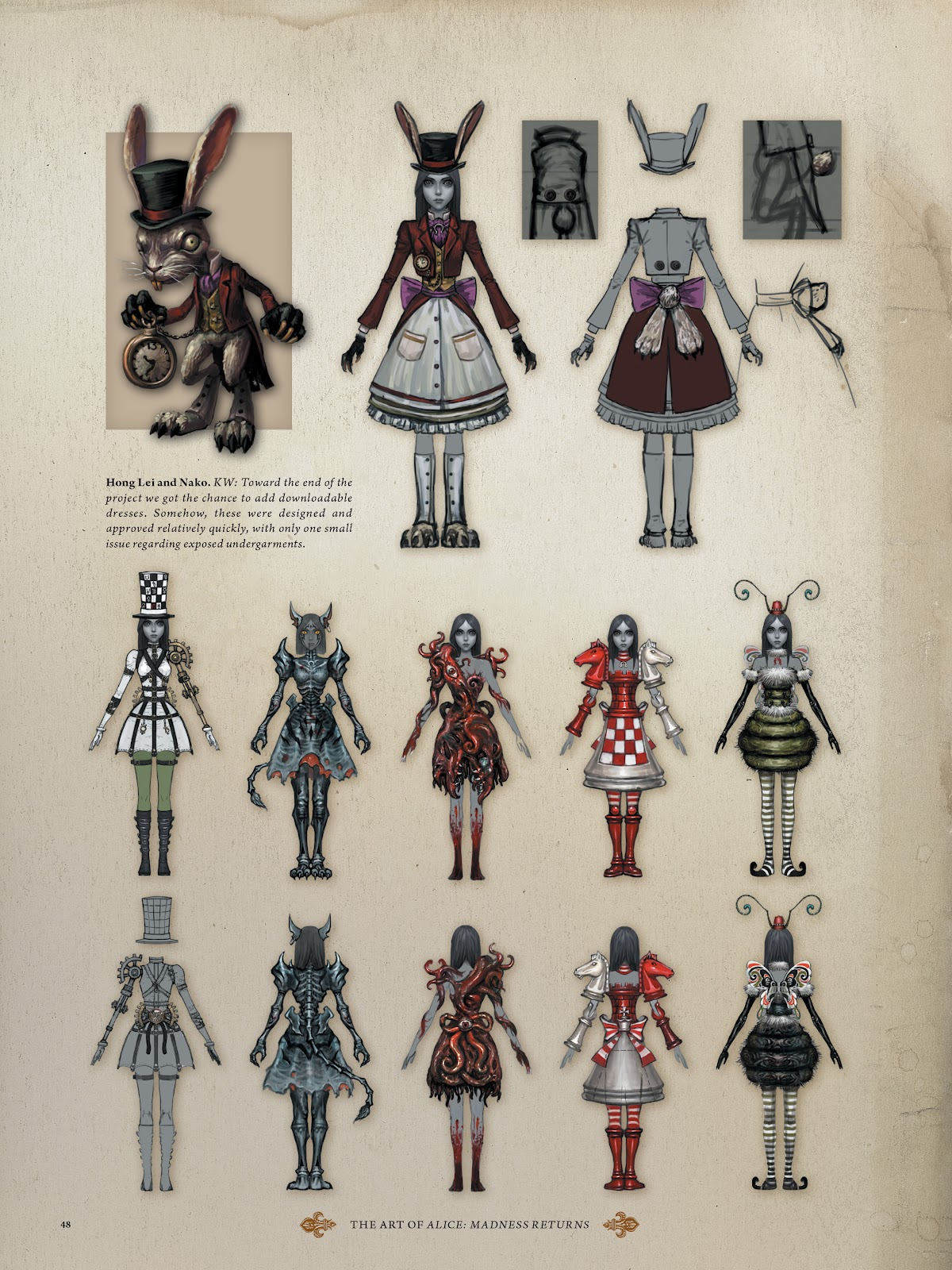 Read online The Art of Alice: Madness Returns comic -  Issue # TPB (Part 1) - 45