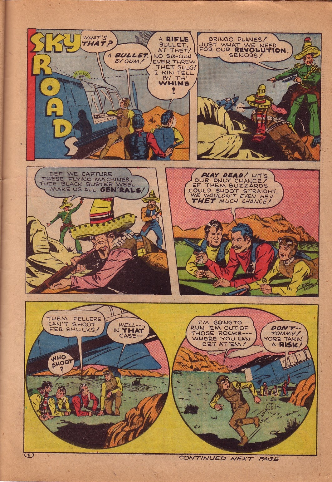 Read online Famous Funnies comic -  Issue #107 - 40