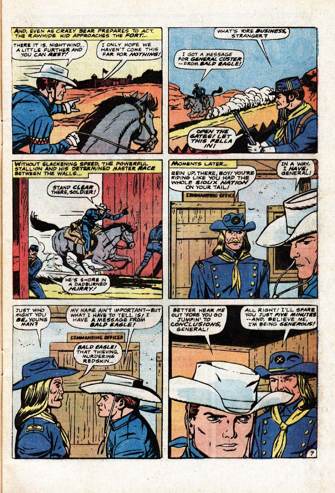 The Mighty Marvel Western issue 15 - Page 8