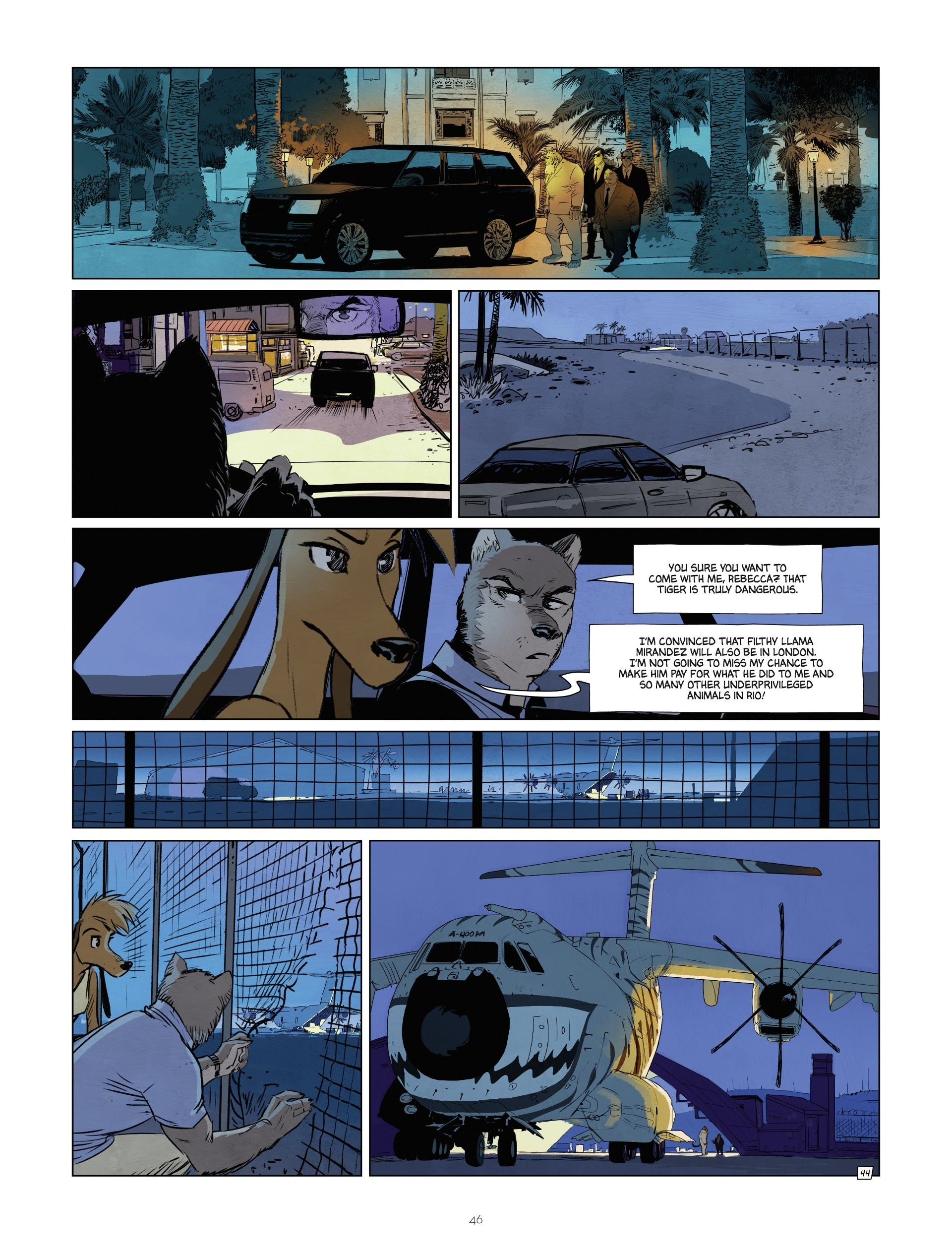 Read online Jack Wolfgang comic -  Issue #3 - 48