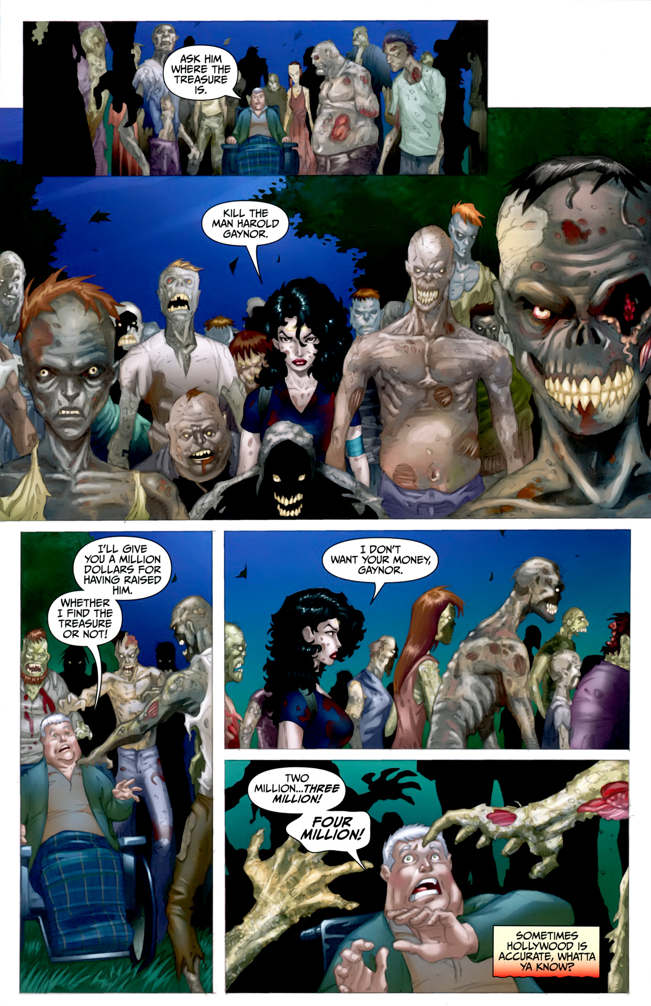 Read online Anita Blake: The Laughing Corpse - Executioner comic -  Issue #5 - 12