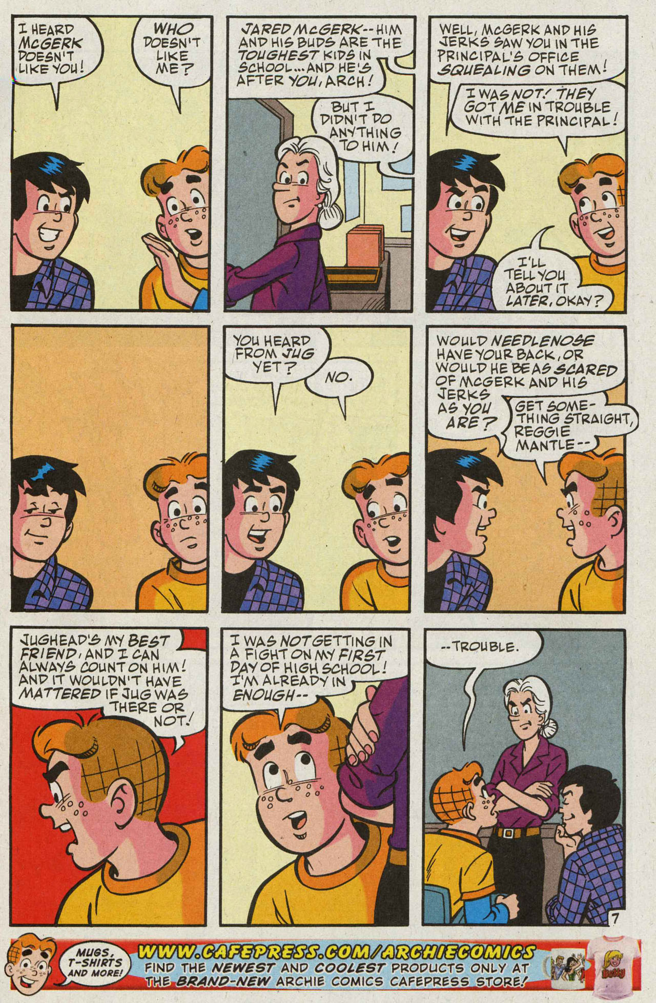 Read online Archie (1960) comic -  Issue #588 - 8