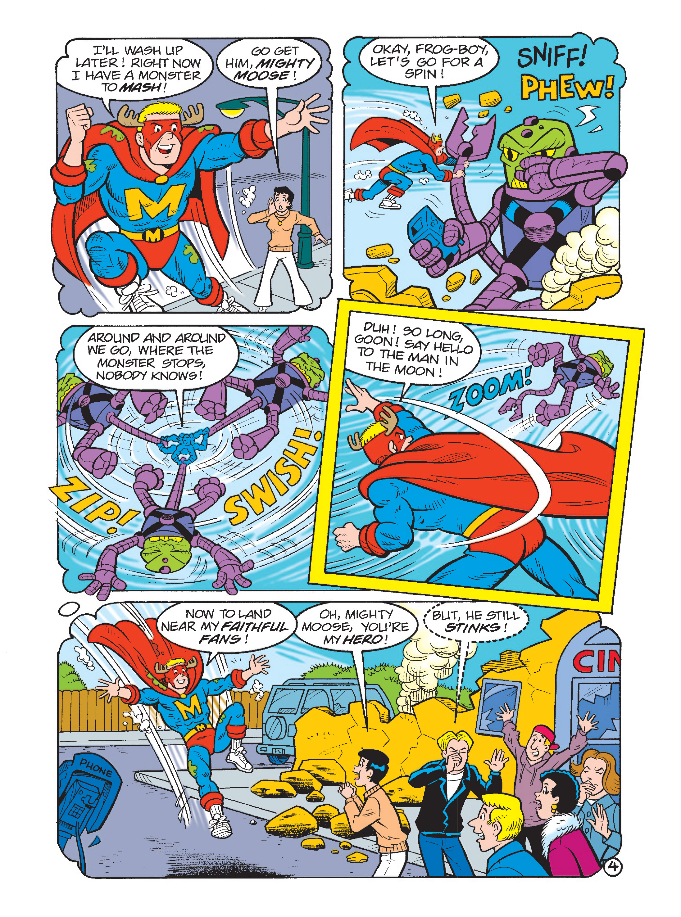 Read online Archie's Funhouse Double Digest comic -  Issue #1 - 32