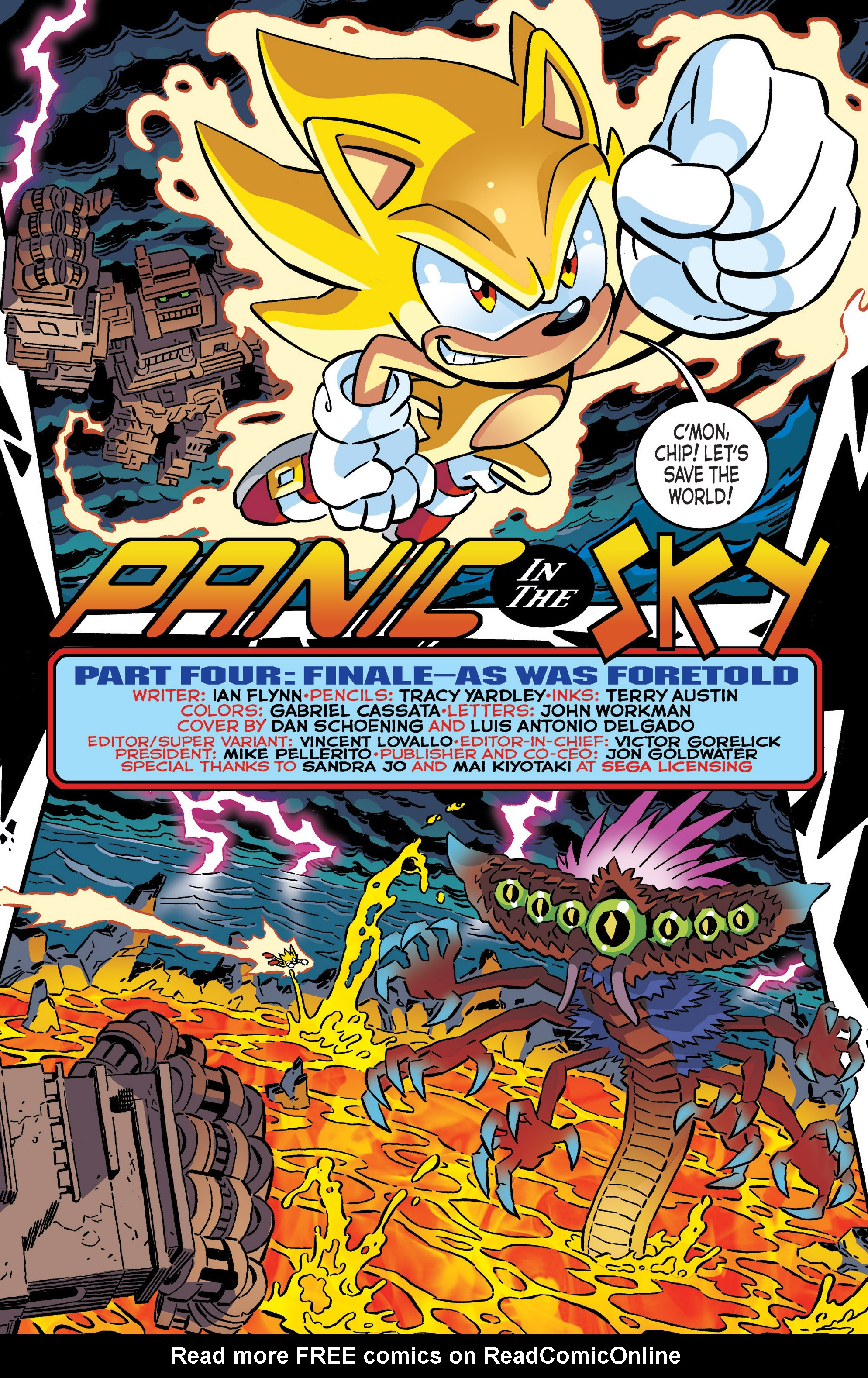 Read online Sonic The Hedgehog comic -  Issue #287 - 3