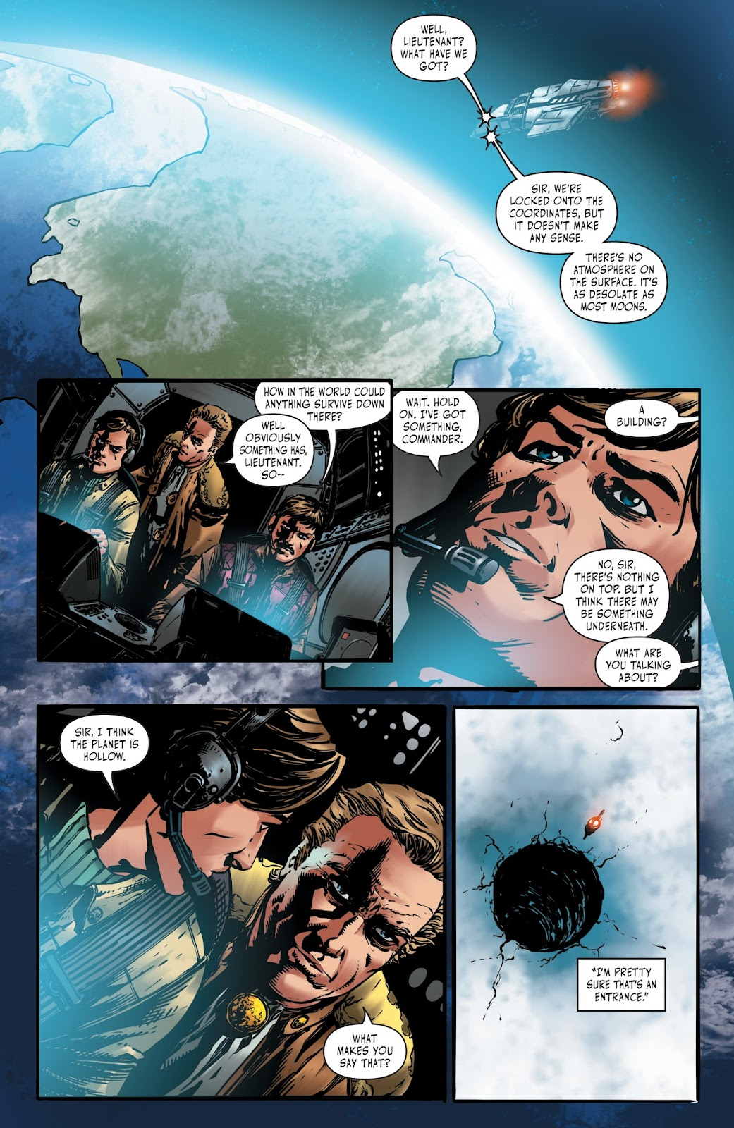 Battlestar Galactica BSG vs. BSG issue 1 - Page 12