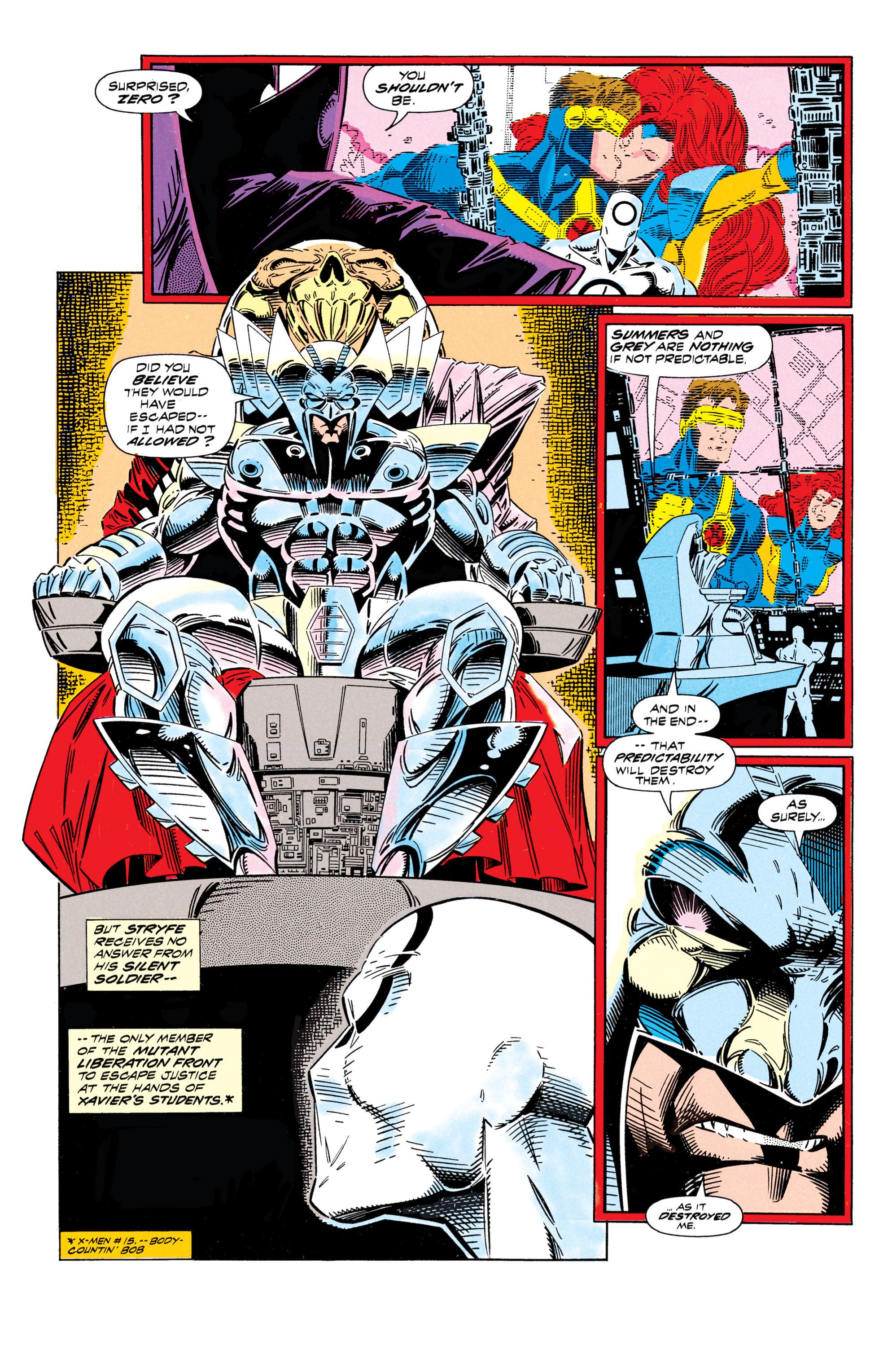 Read online Uncanny X-Men (1963) comic -  Issue #296 - 5