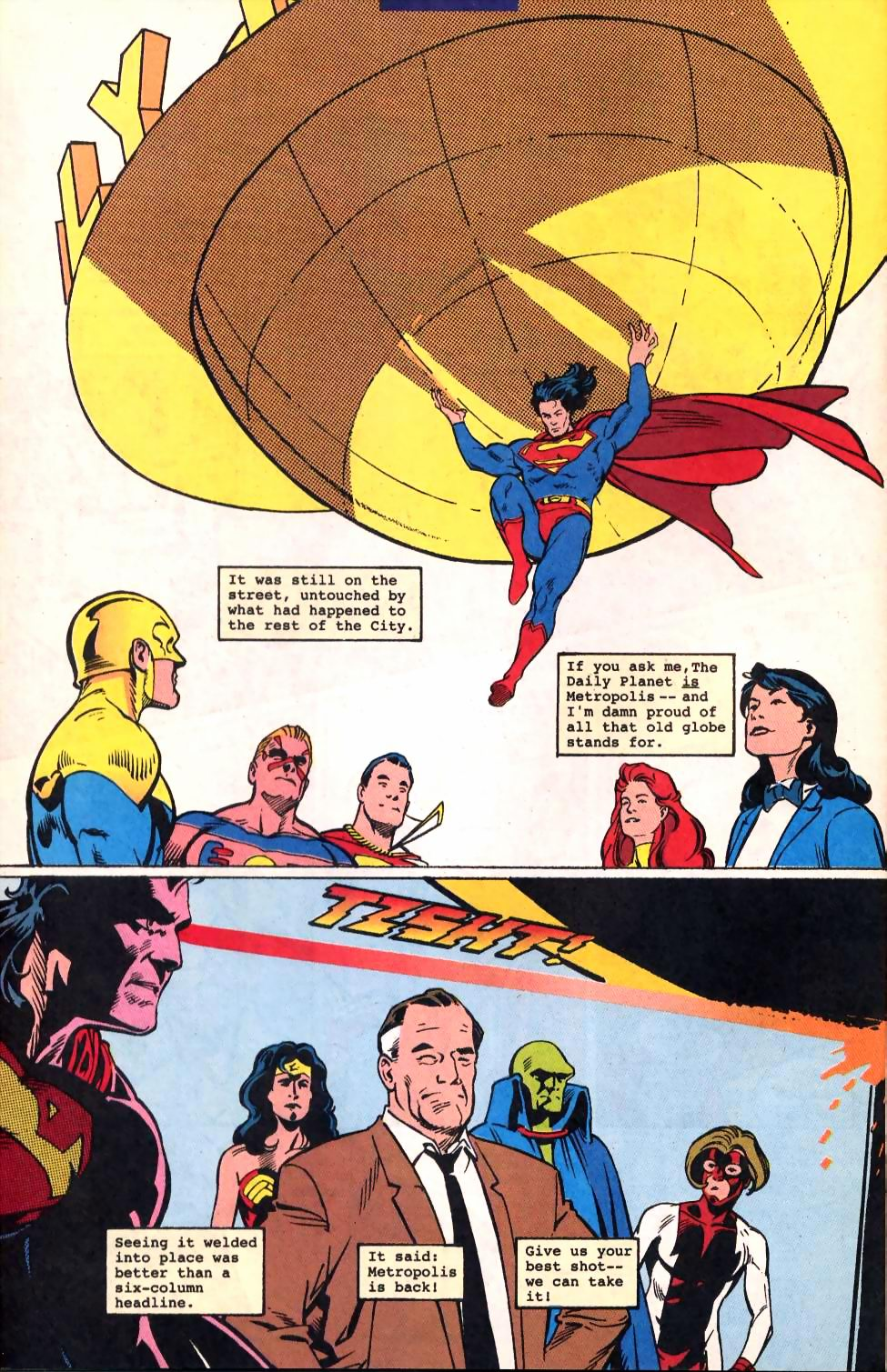 Read online Adventures of Superman (1987) comic -  Issue #522 - 23