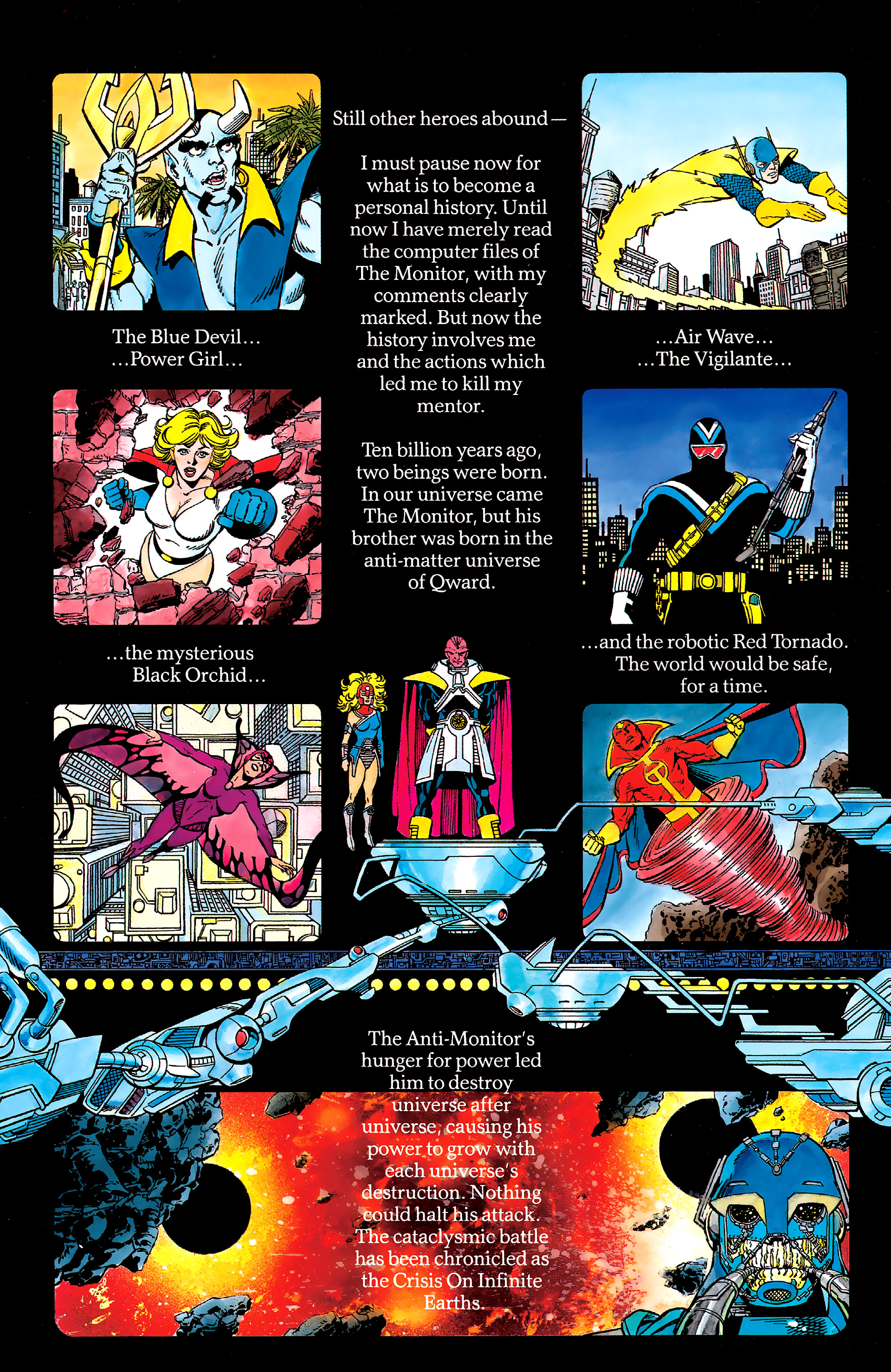 Read online History of the DC Universe comic -  Issue #2 - 35