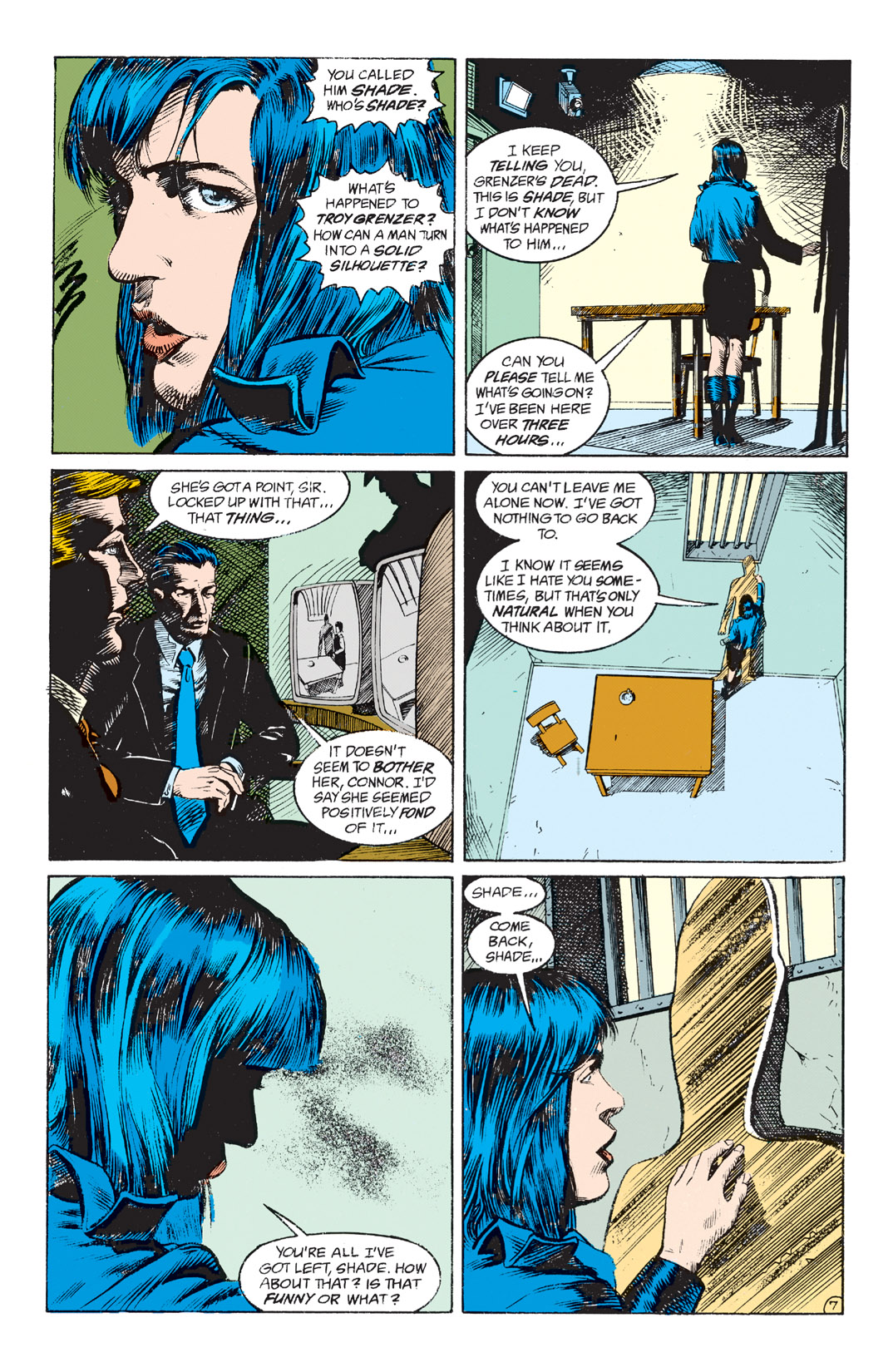 Read online Shade, the Changing Man comic -  Issue #4 - 9