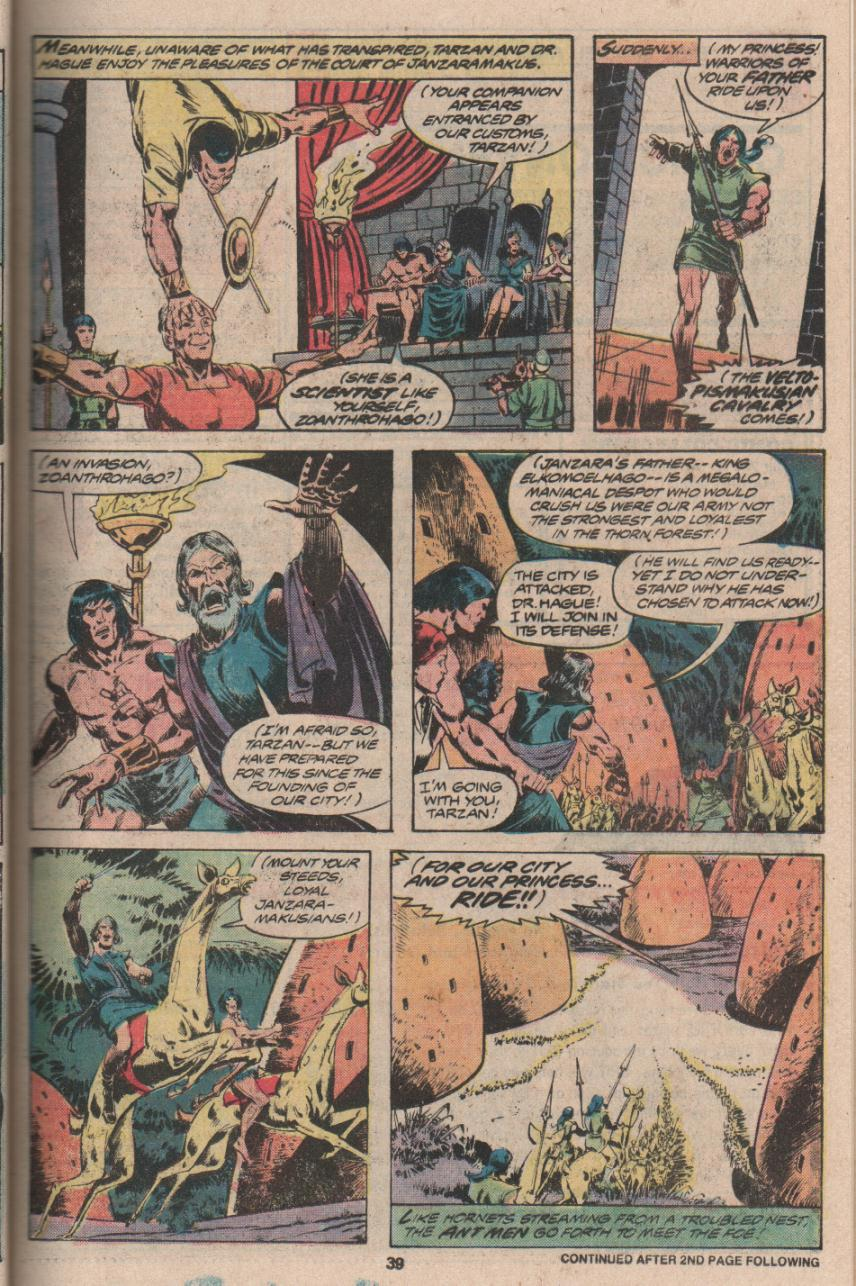 Read online Tarzan (1977) comic -  Issue # _Annual 3 - 30