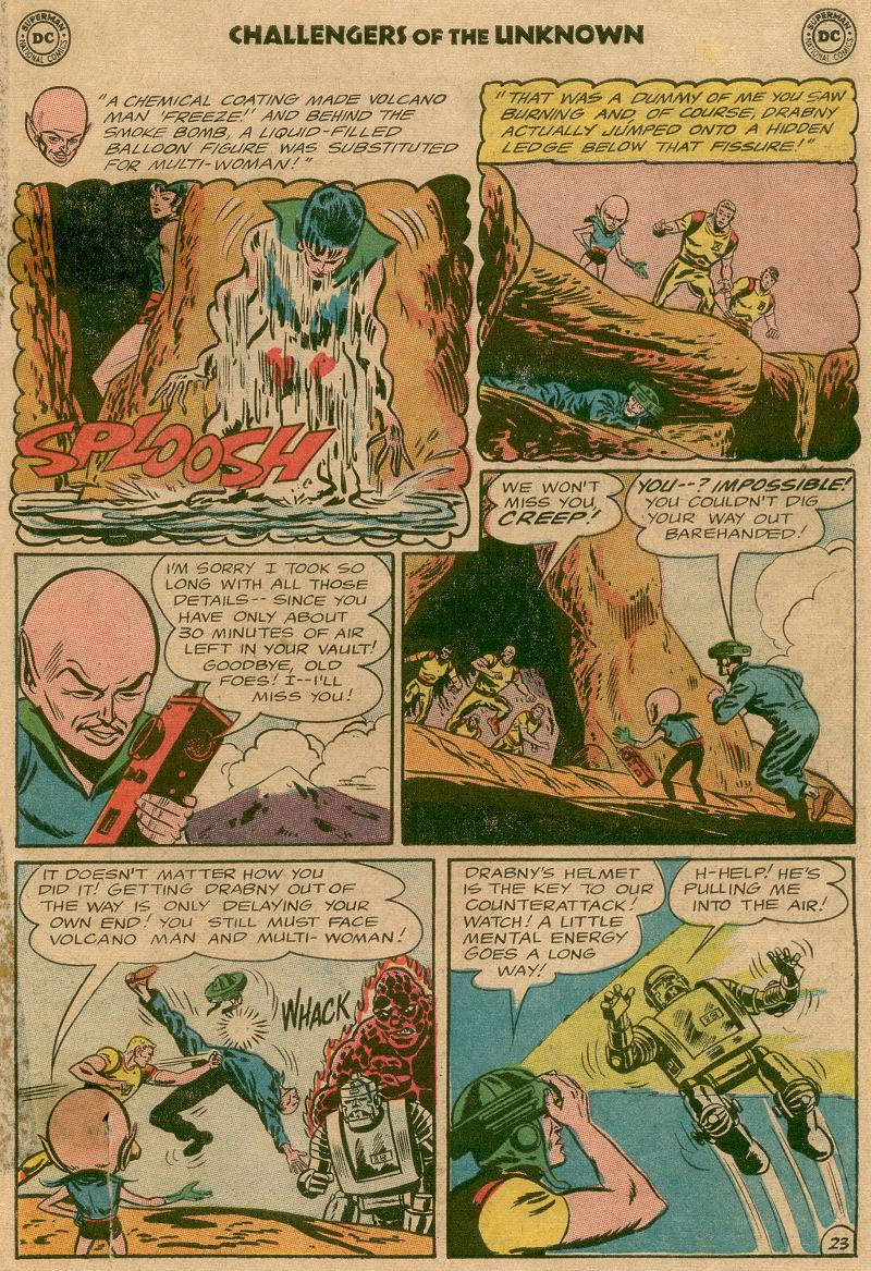 Challengers of the Unknown (1958) issue 45 - Page 28