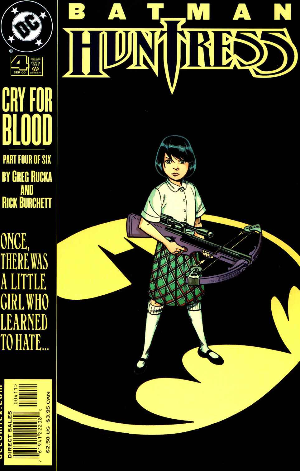 Read online Batman/Huntress: Cry for Blood comic -  Issue #4 - 1