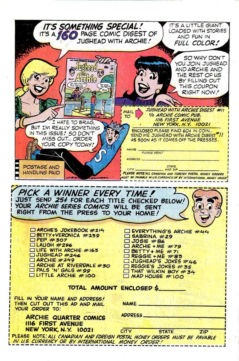 Read online Archie (1960) comic -  Issue #248 - 27
