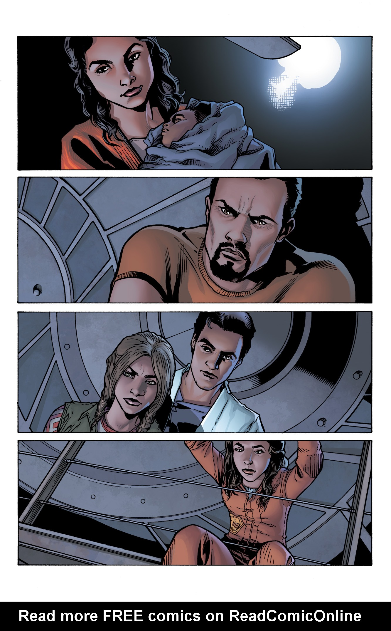 Read online Serenity: Firefly Class 03-K64  Leaves on the Wind comic -  Issue #4 - 3
