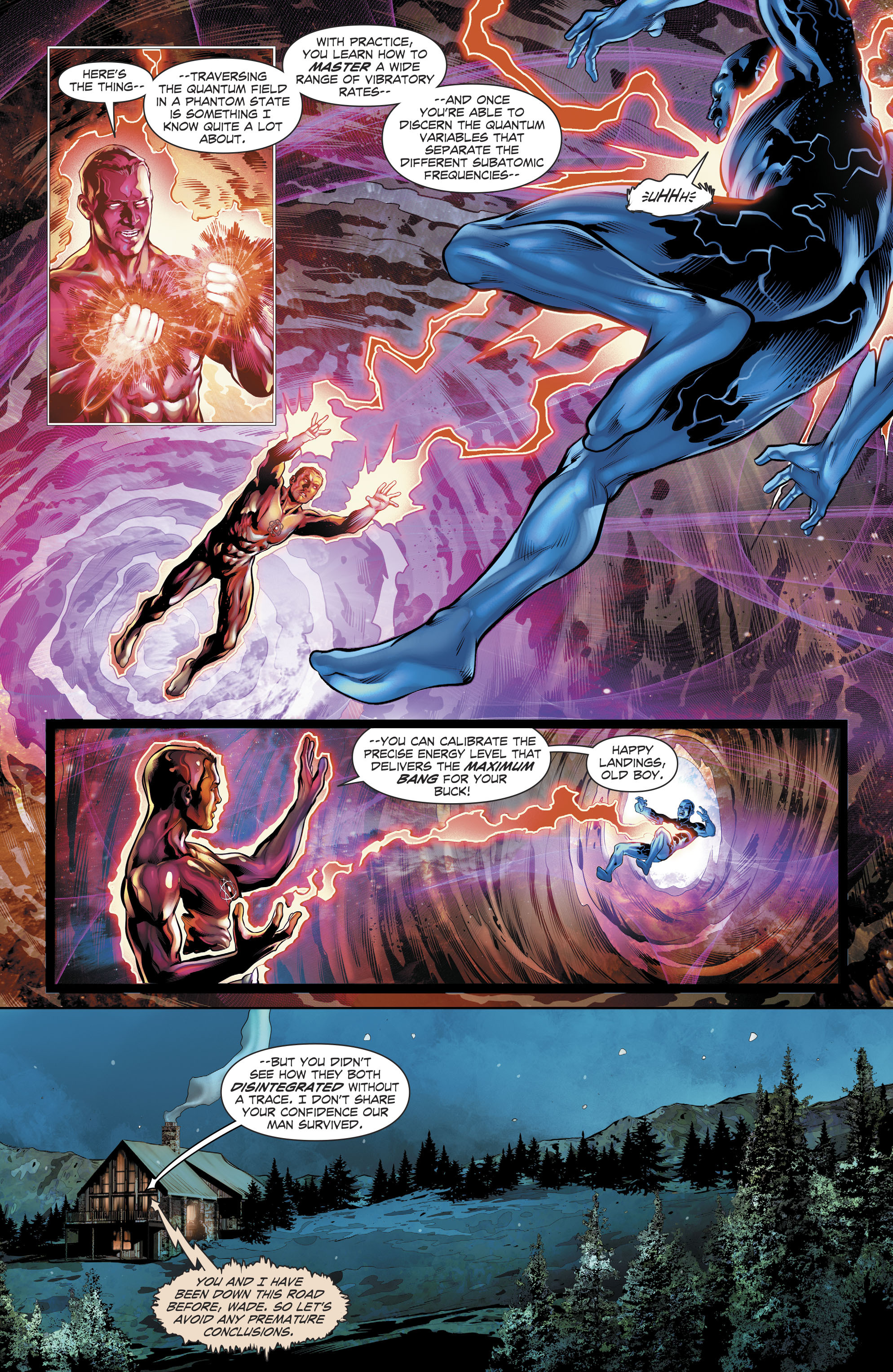 Read online The Fall and Rise of Captain Atom comic -  Issue #5 - 20