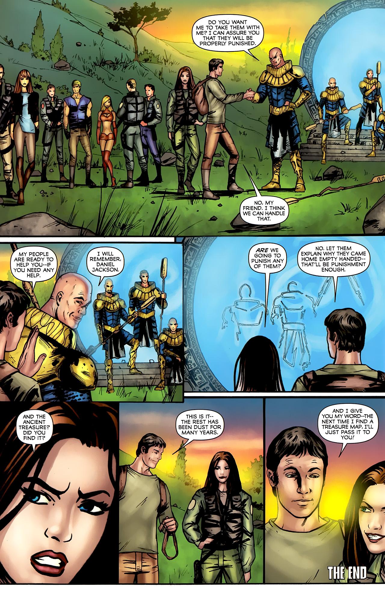 Read online Stargate: Daniel Jackson comic -  Issue #4 - 24