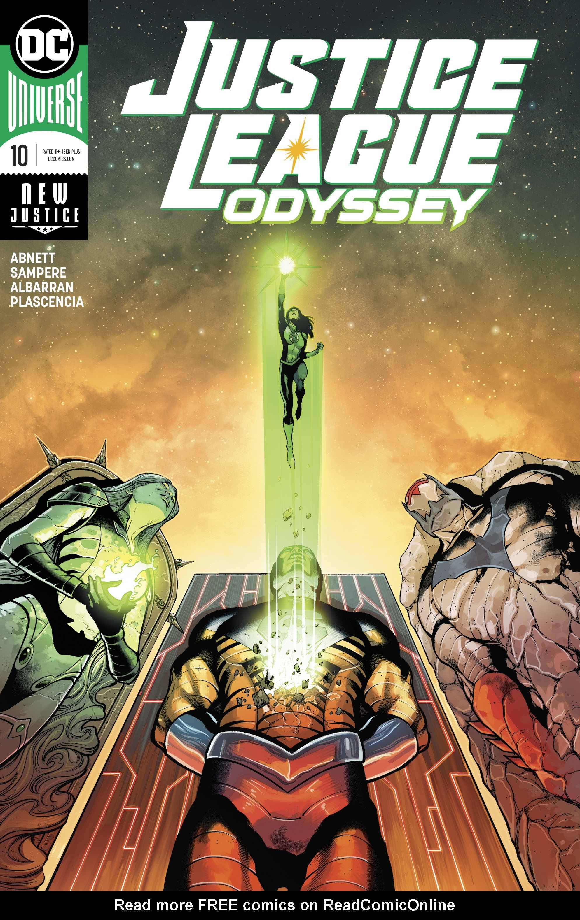 Justice League Odyssey 10 Page 1